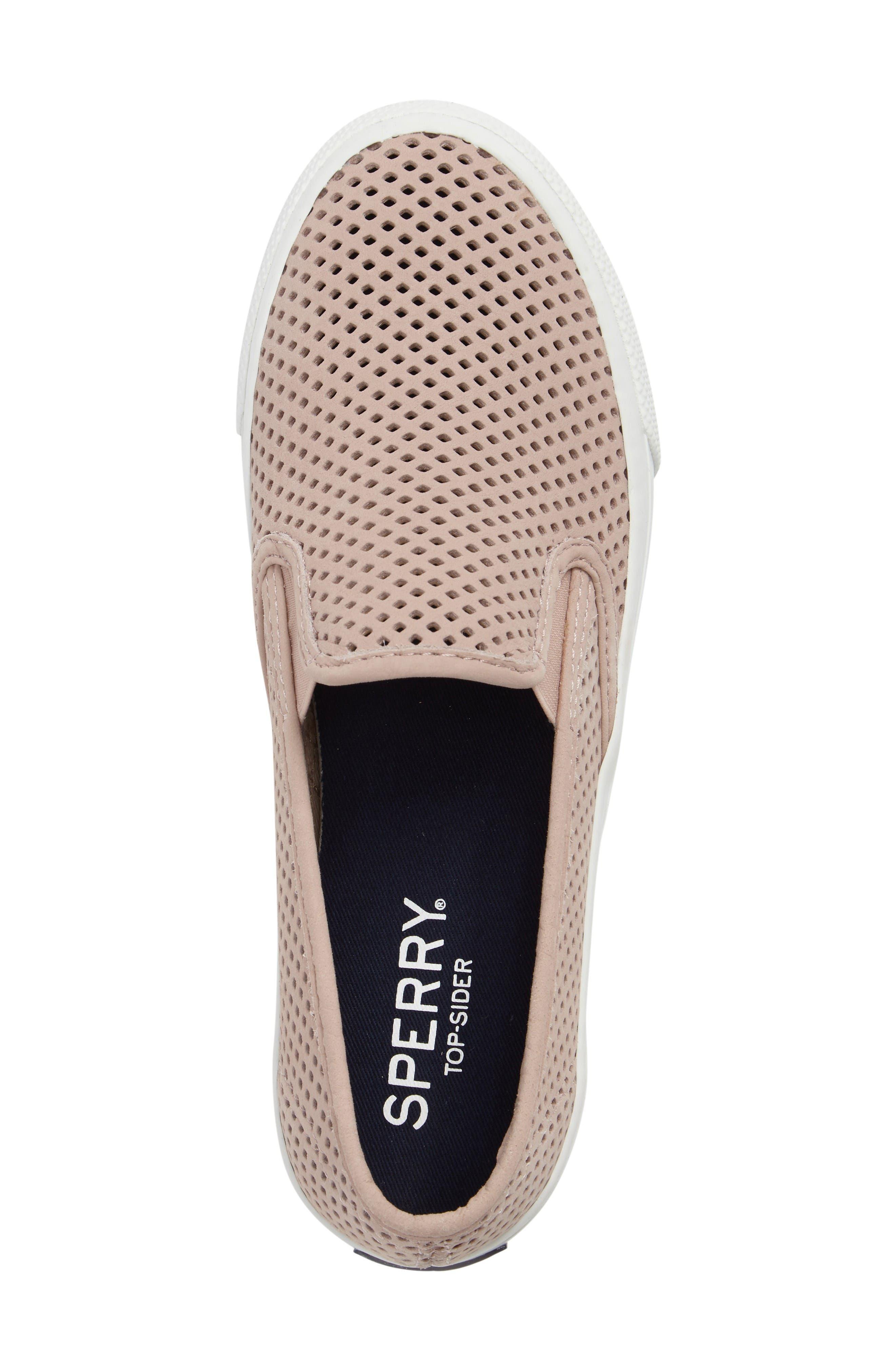Alternate Image 5  - Sperry 'Seaside' Perforated Slip-On Sneaker (Women)