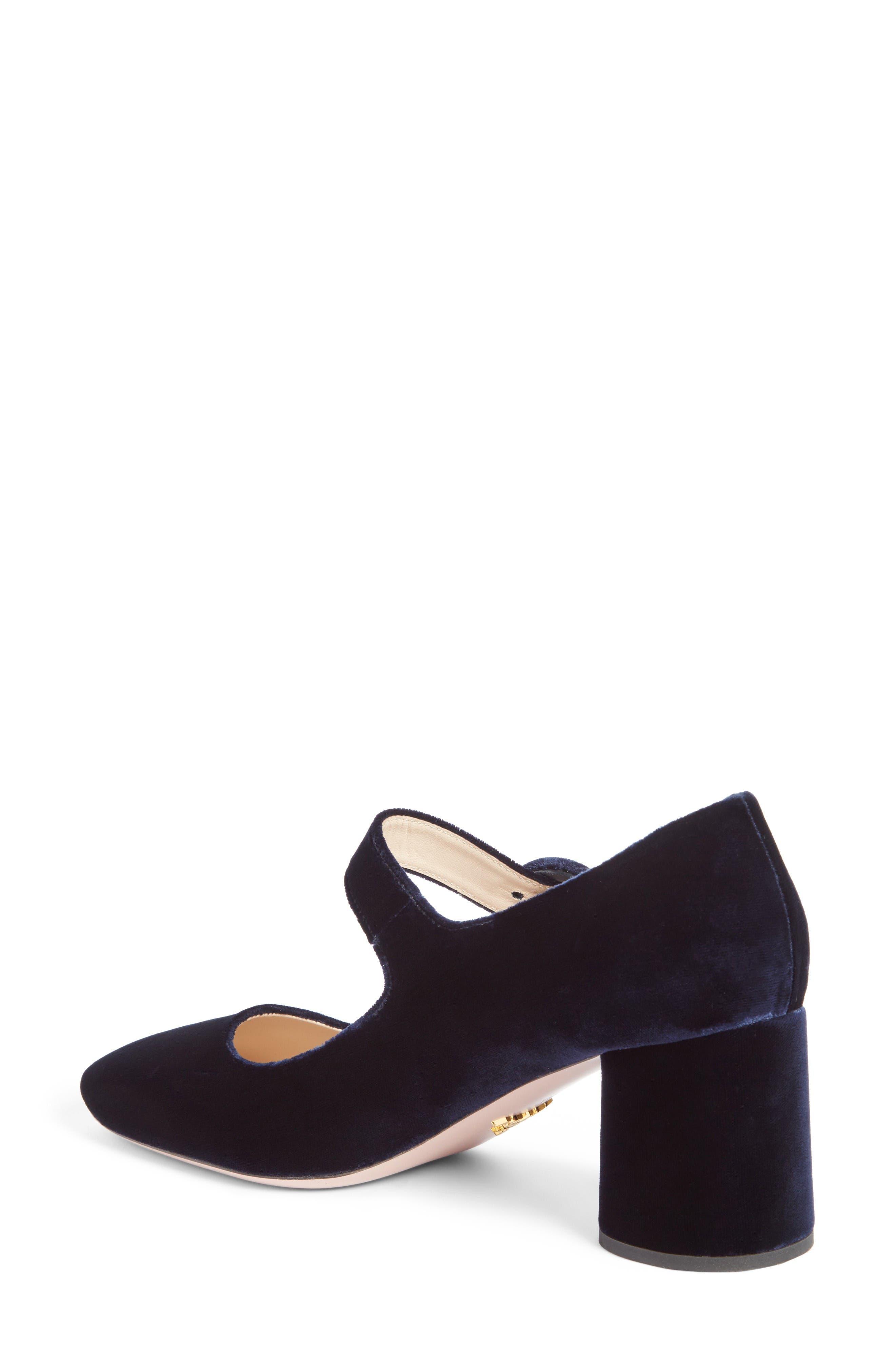 Alternate Image 2  - Prada Block Heel Mary Jane Pump (Women)