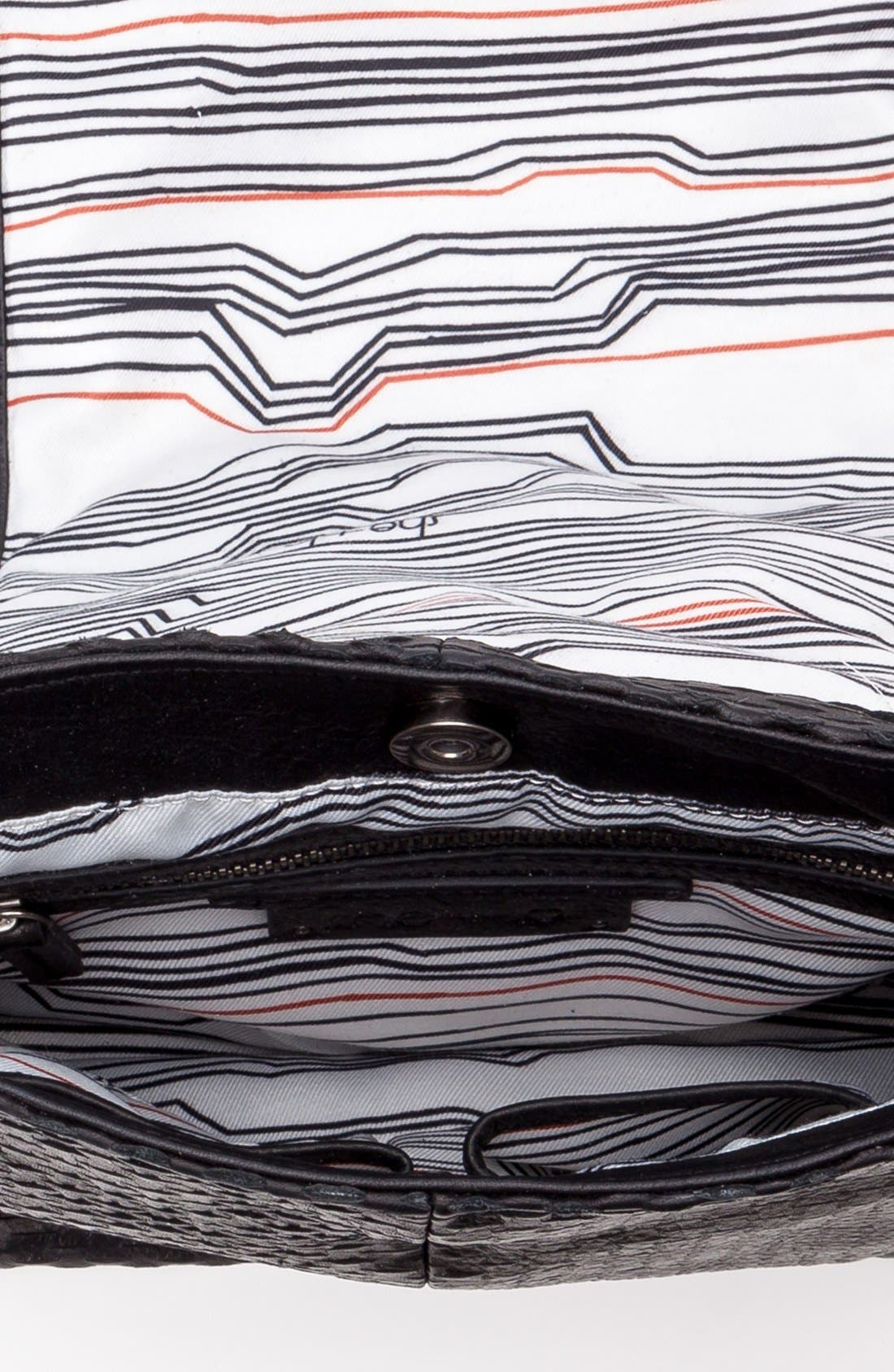 Alternate Image 3  - She + Lo 'Bright Side' Leather Messenger Bag