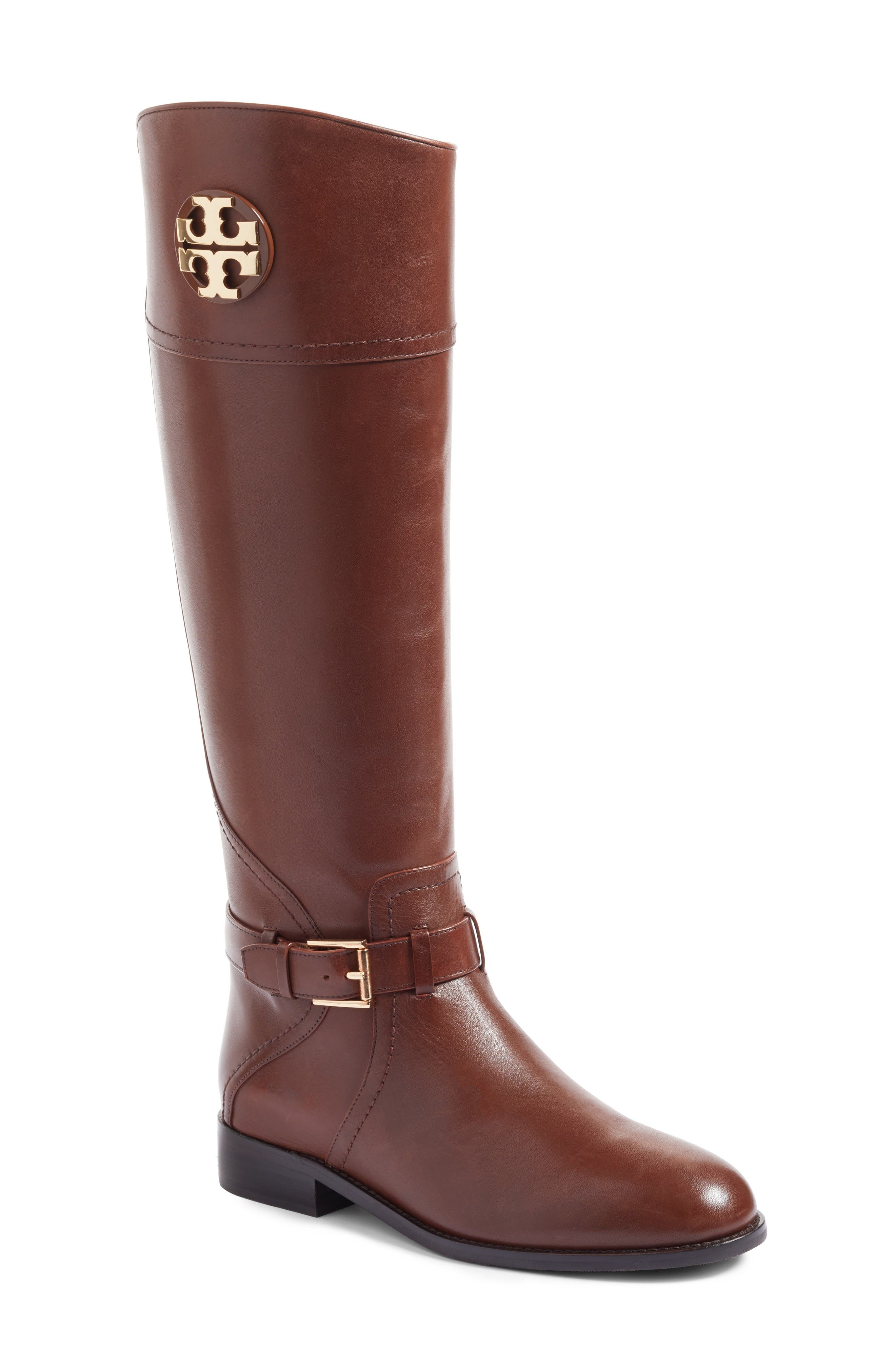 Alternate Image 1 Selected - Tory Burch Adeline Boot (Women) (Regular & Wide Calf)