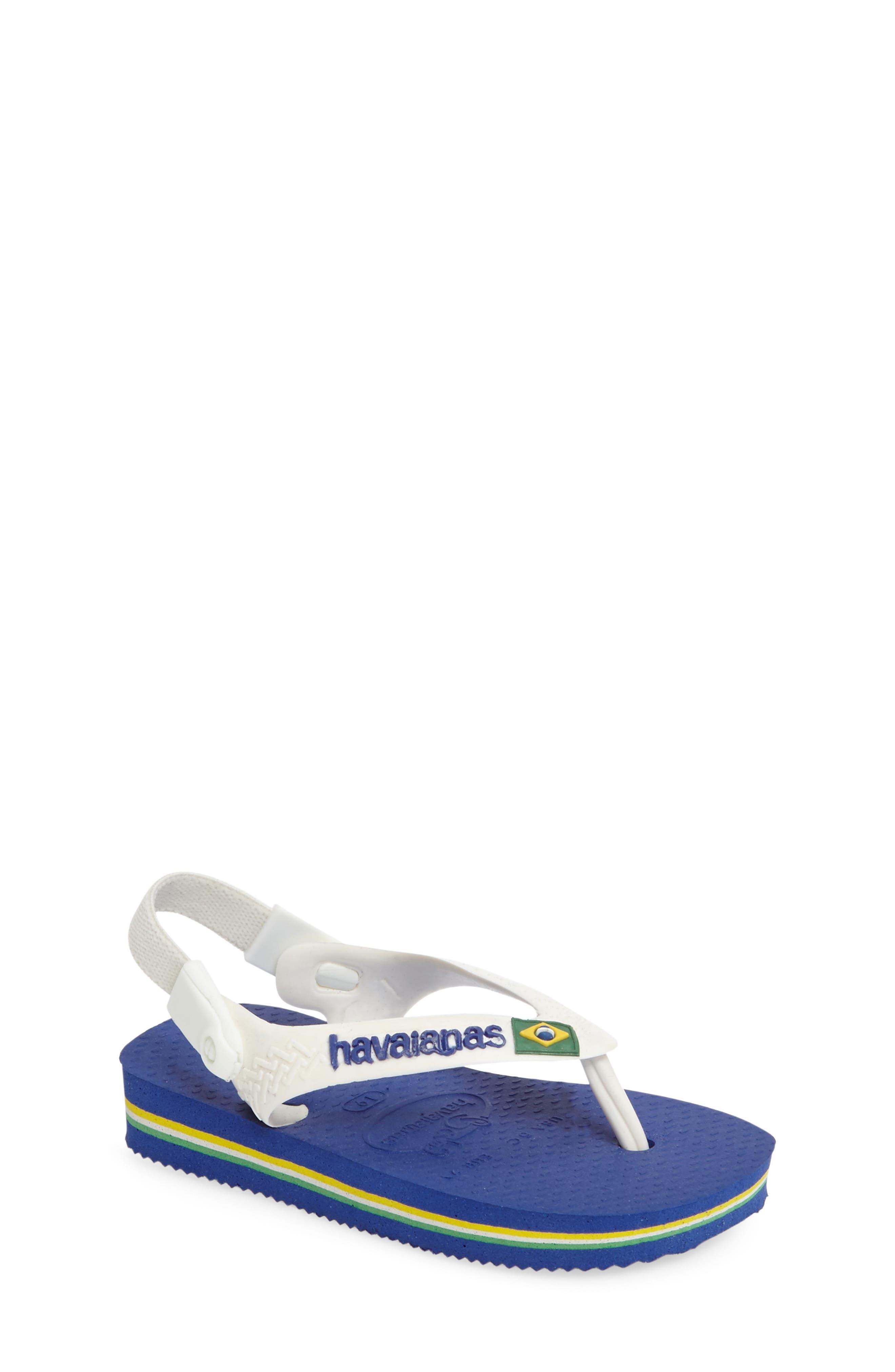Havaianas 'Baby Brazil' Sandal (Walker)
