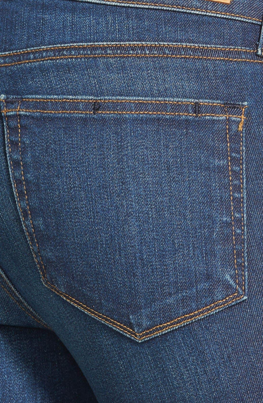 Alternate Image 3  - Paige Denim 'Skyline' Skinny Jeans (Mischa Blue)
