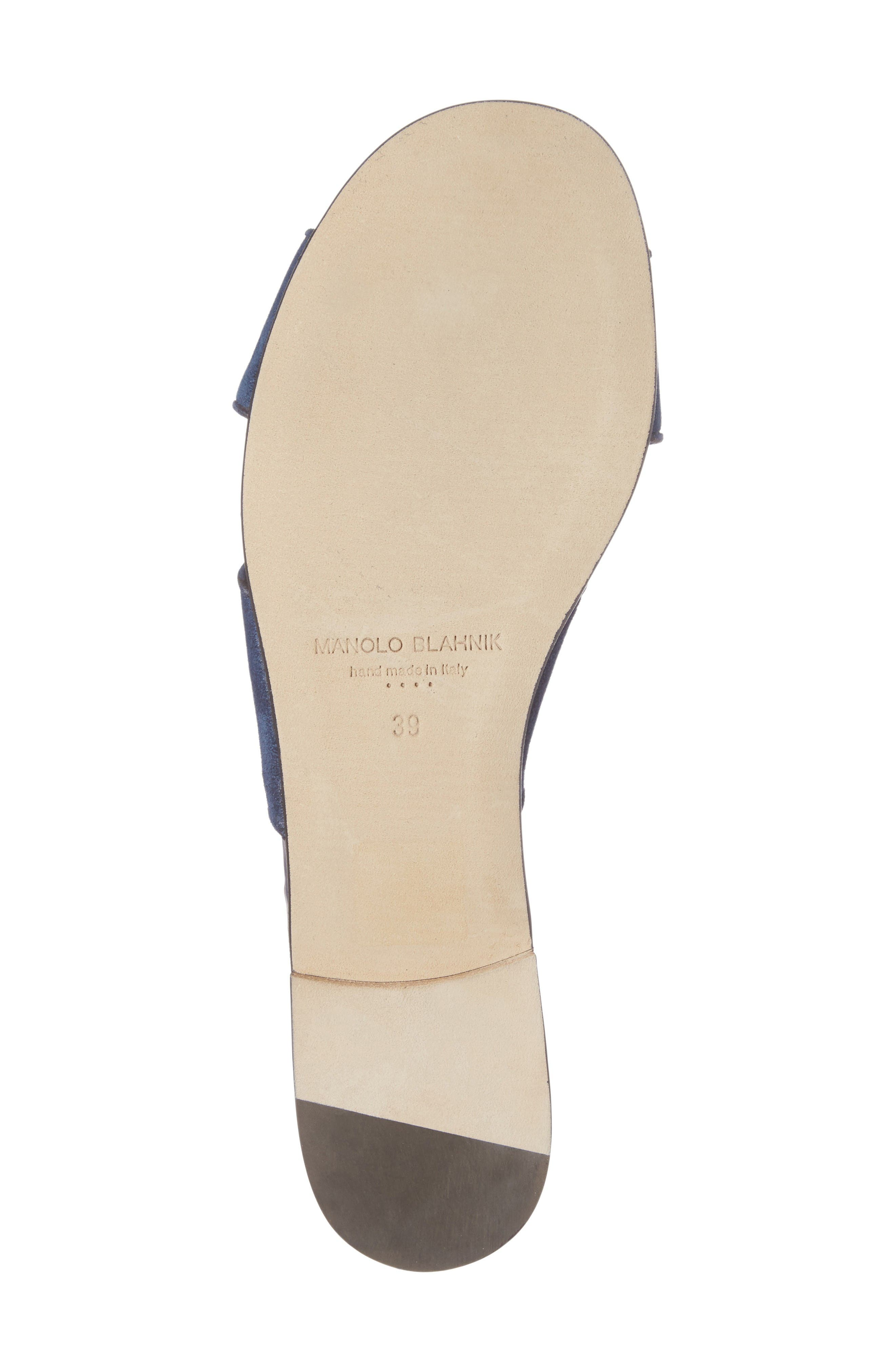 Alternate Image 6  - Manolo Blahnik Otawi Slide Sandal (Women)