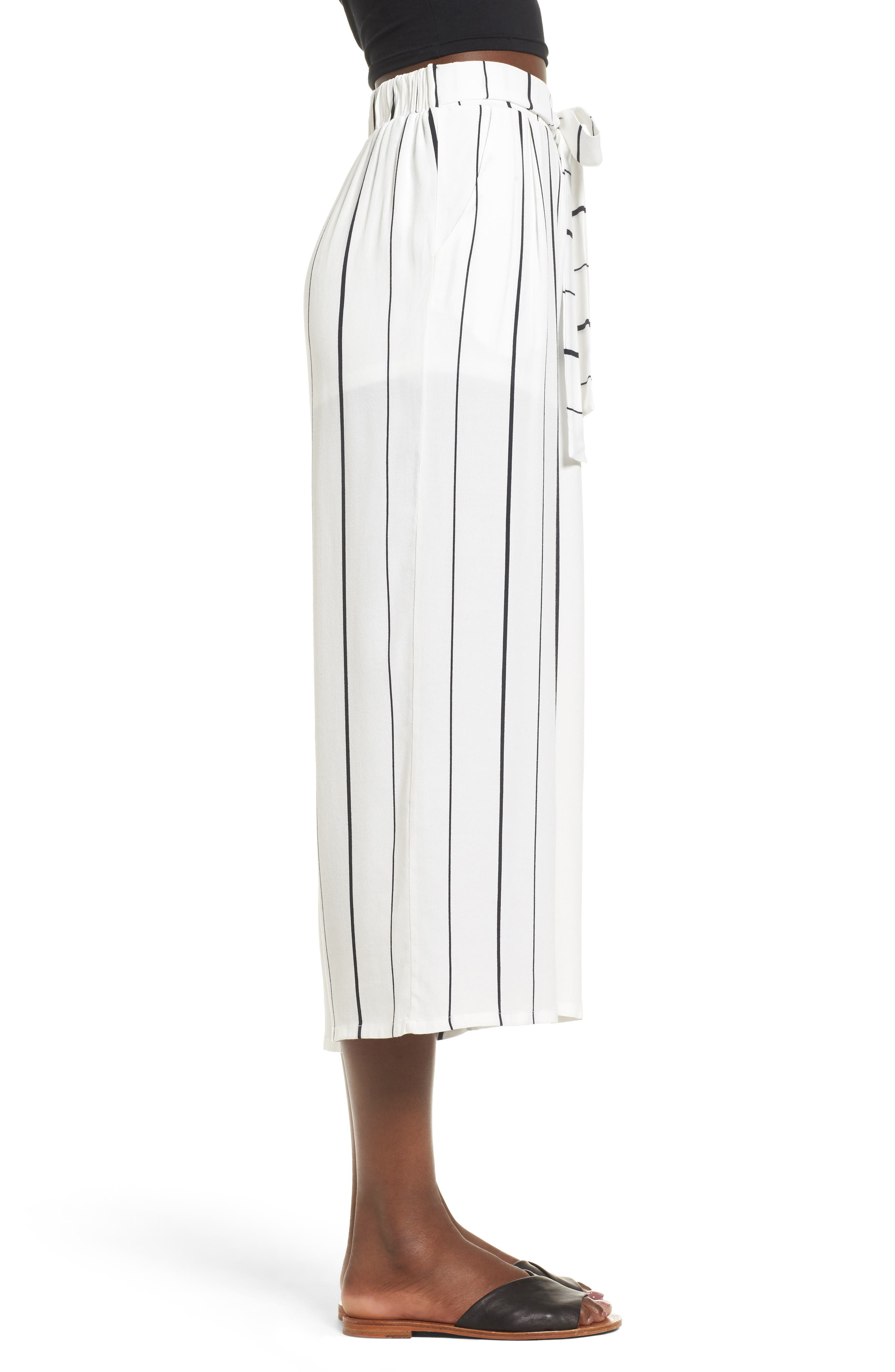 Alternate Image 3  - Leith Tie High Rise Crop Pants