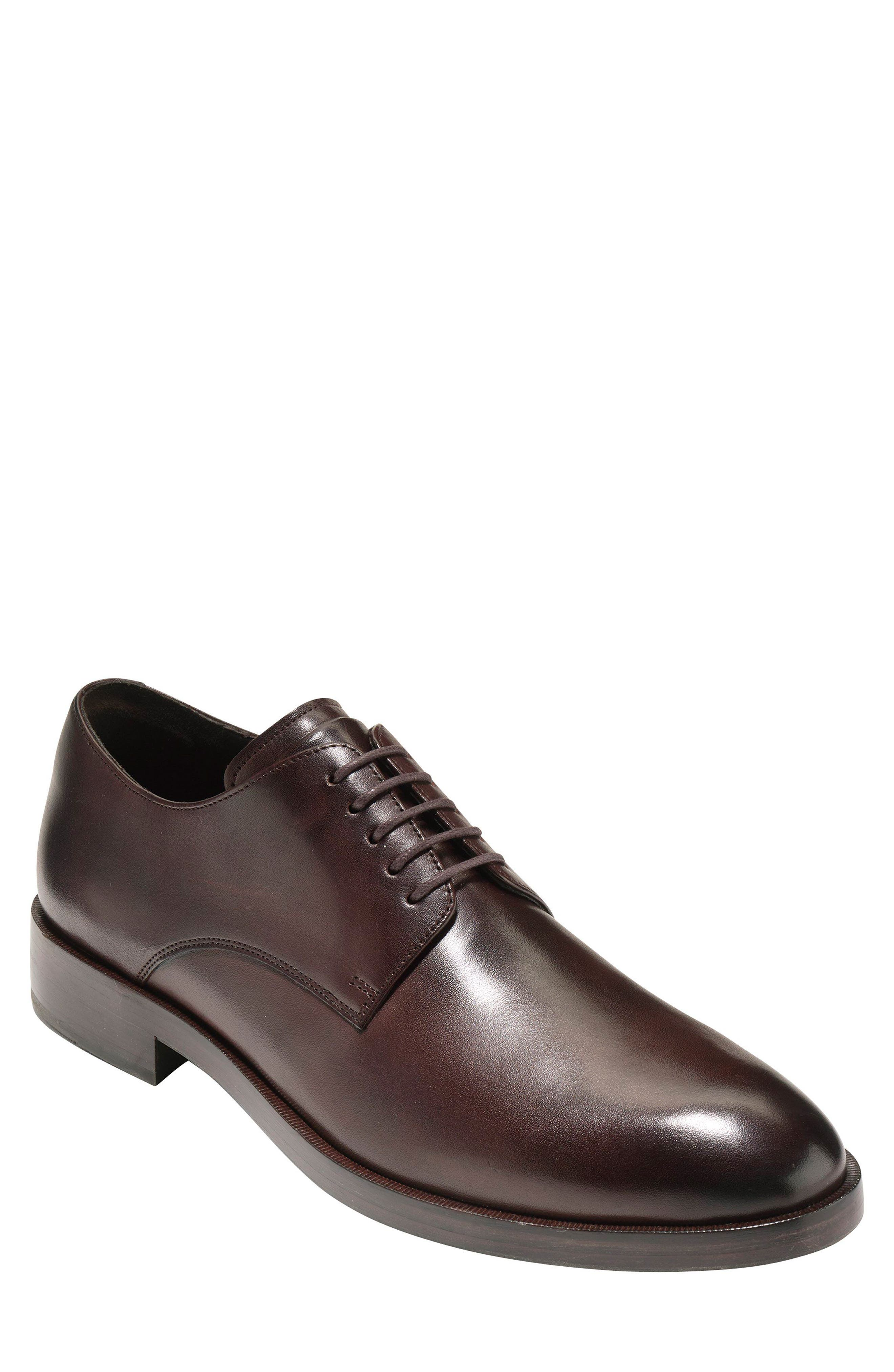 COLE HAAN Harrison Grand Plain Toe Derby