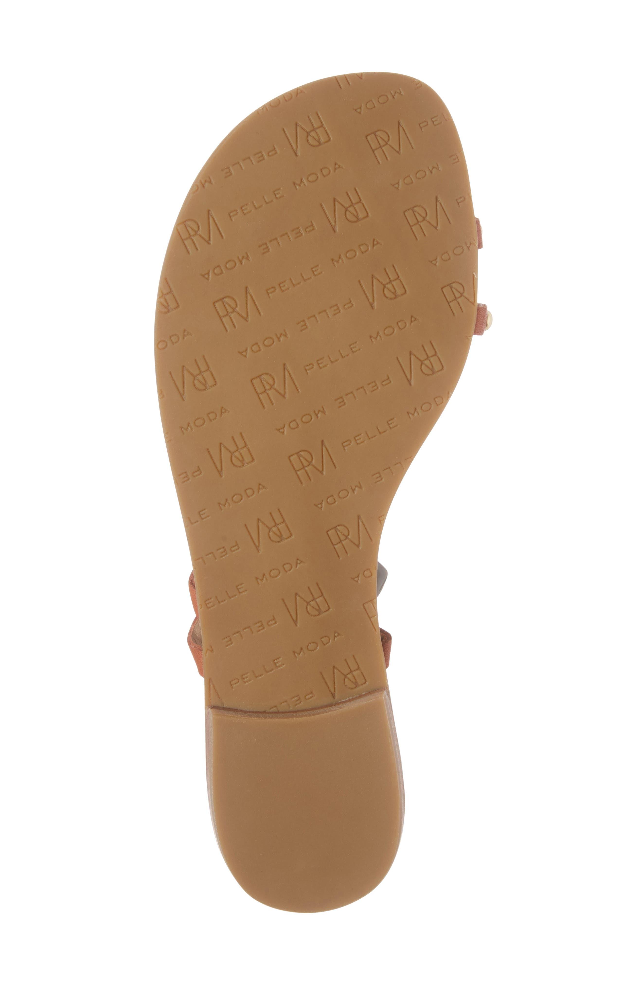 Alternate Image 6  - Pelle Moda Bohem 2 Studded Sandal (Women)
