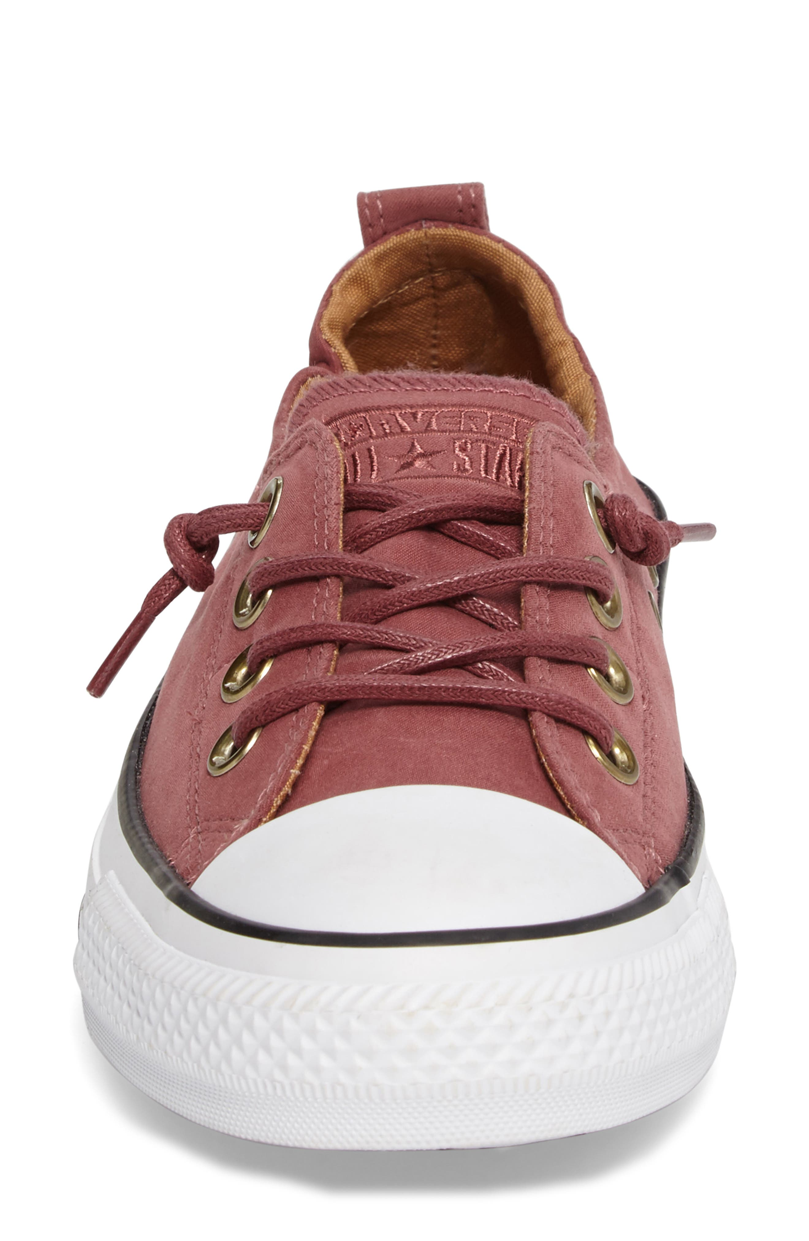 Alternate Image 4  - Converse Chuck Taylor® All Star® Shoreline Peached Twill Sneaker (Women)