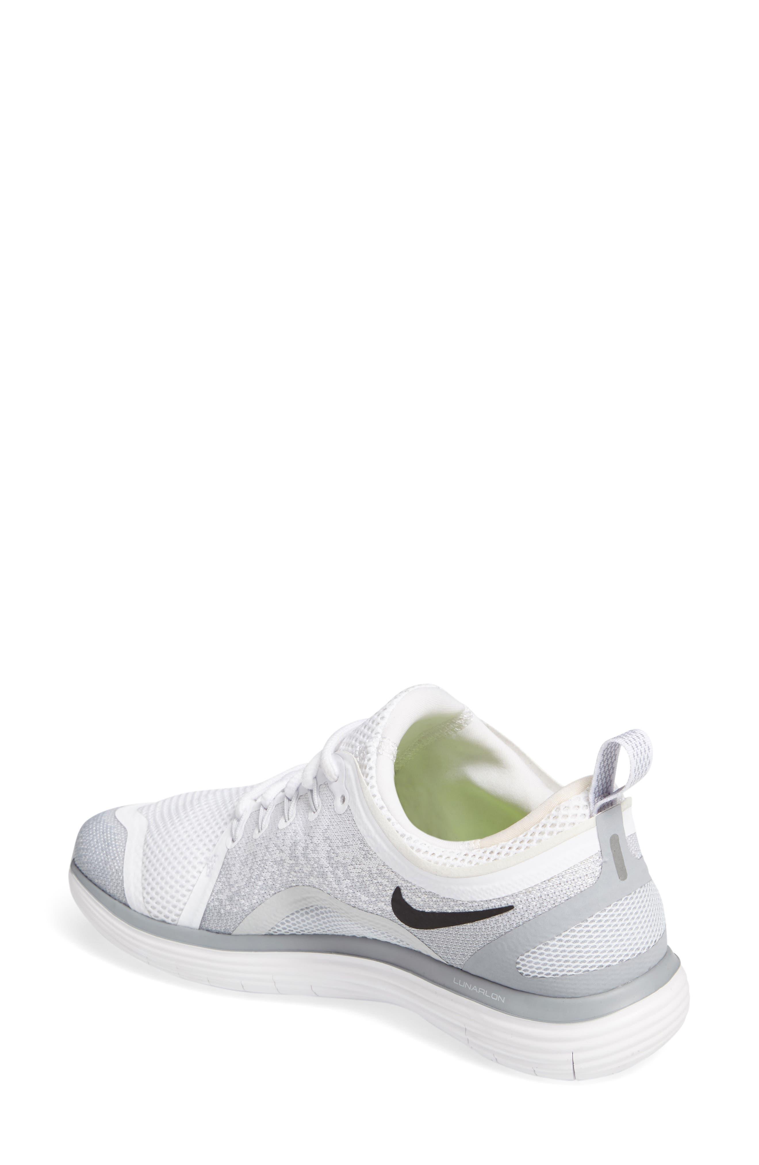 Alternate Image 2  - Nike Free Run Distance 2 Running Shoe (Women)