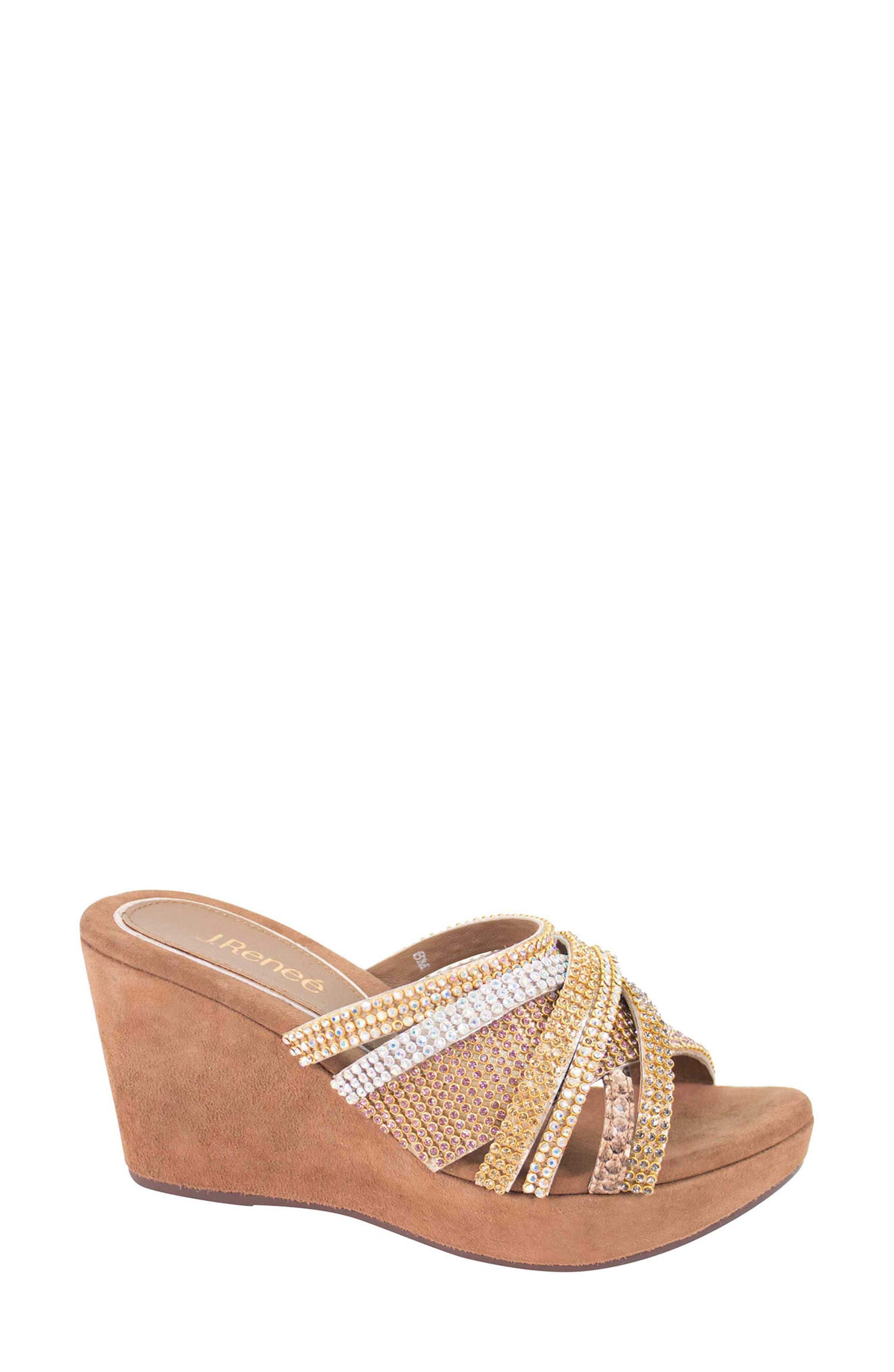 J. Reneé Hardscrabble Wedge Sandal (Women)