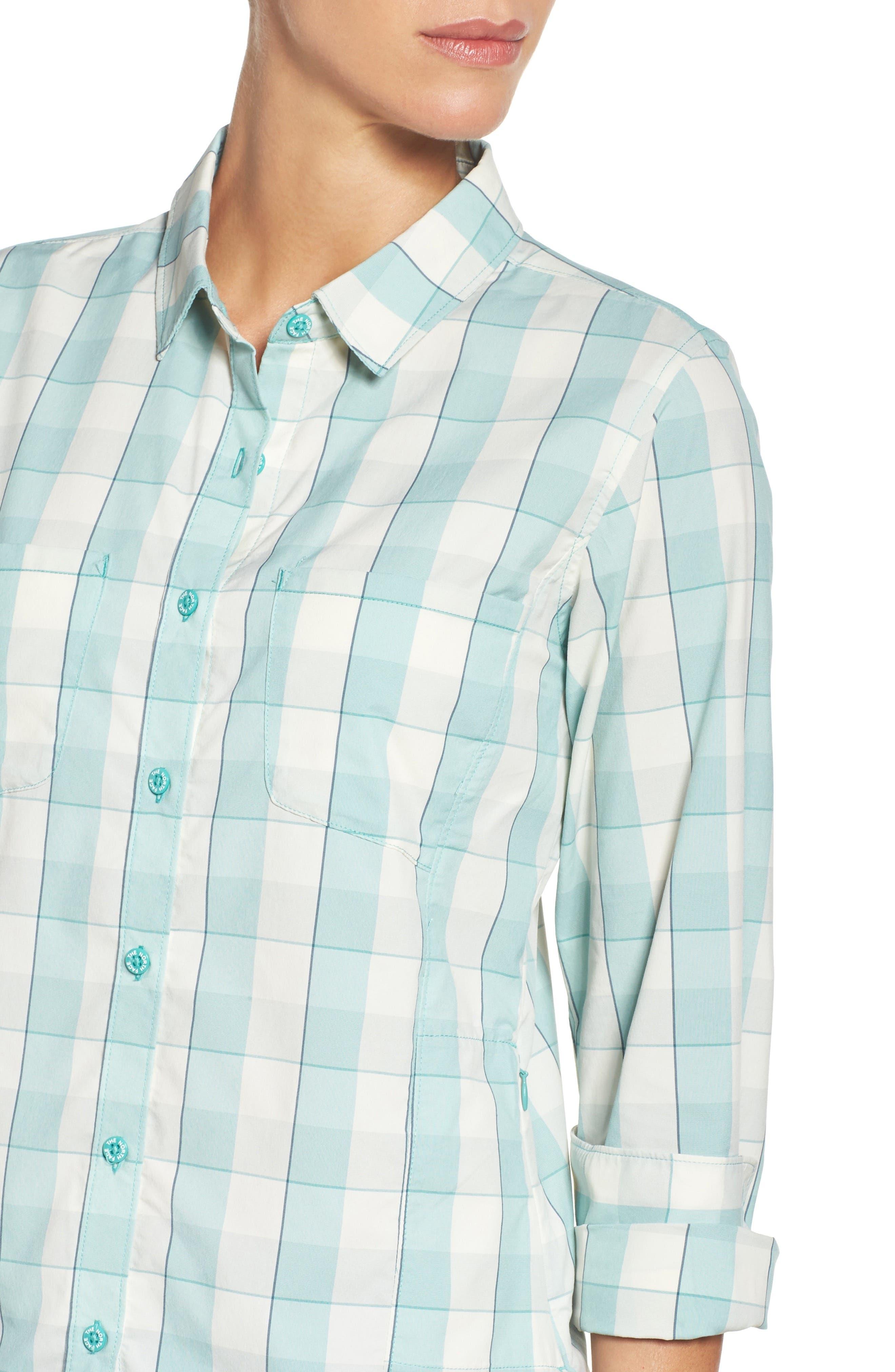 Alternate Image 4  - The North Face Sunblocker Twill Shirt