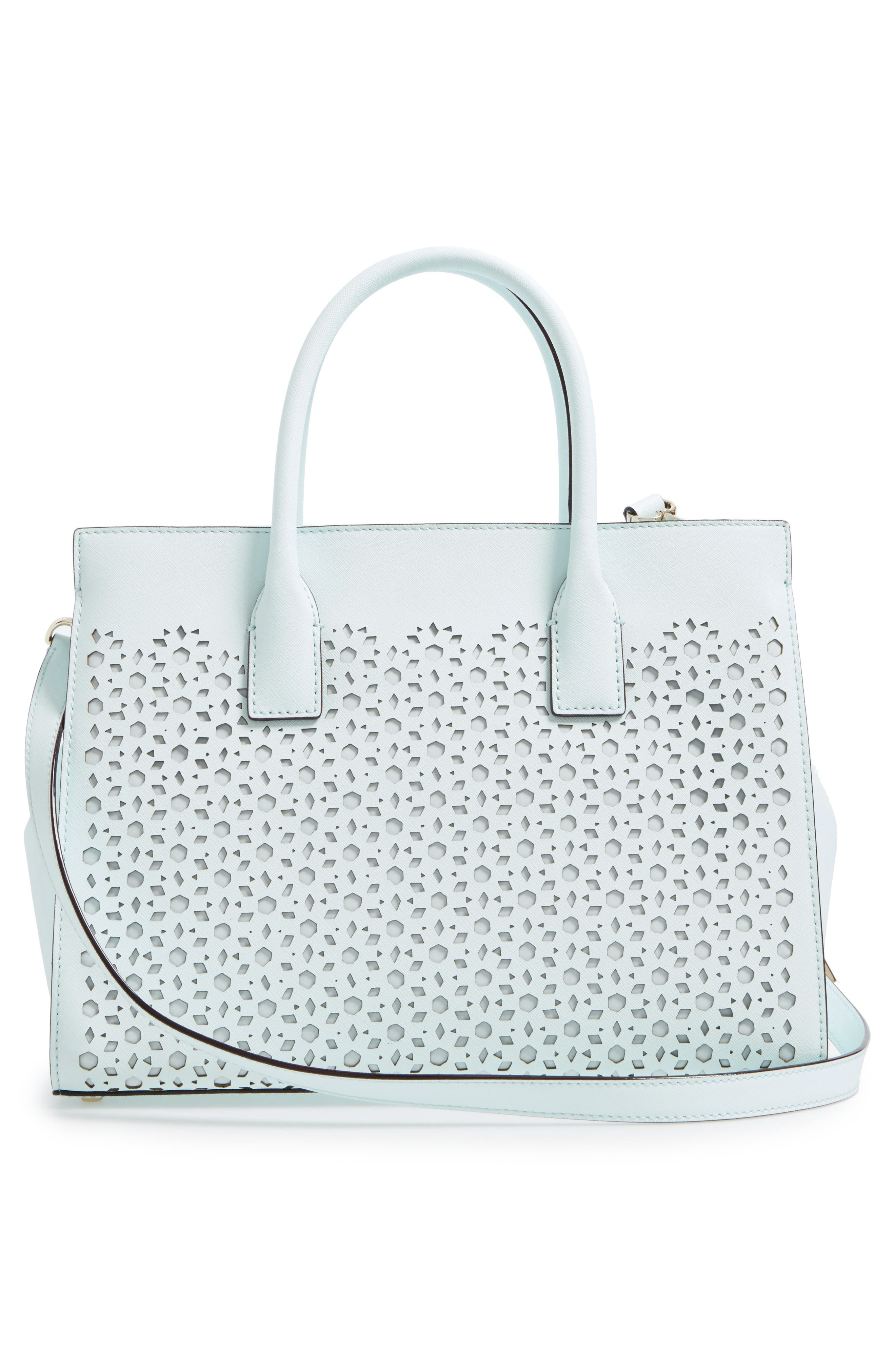 Alternate Image 3  - kate spade new york cameron street - candace perforated leather satchel