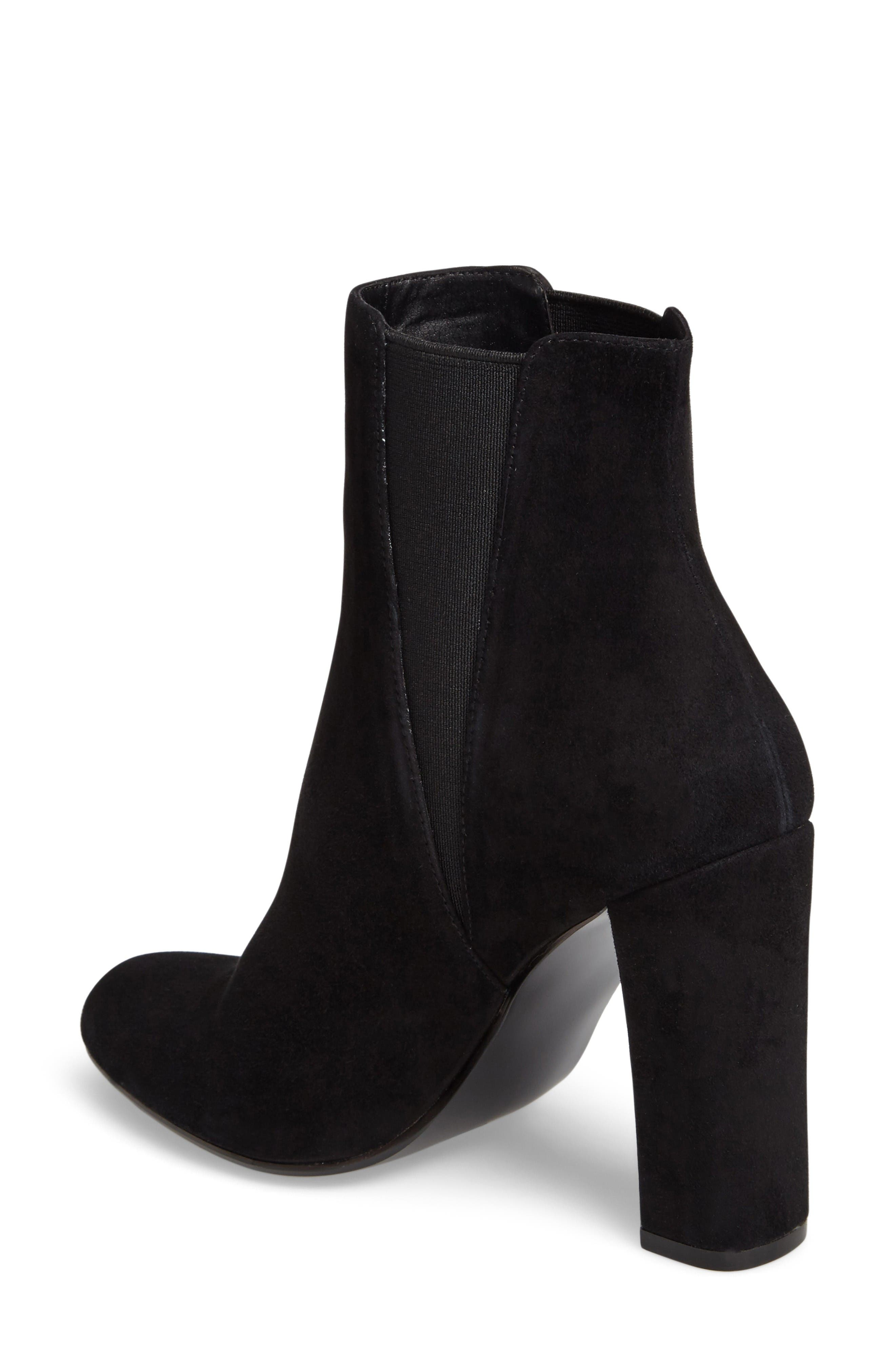 Alternate Image 2  - Steve Madden Effect Block Heel Bootie (Women)