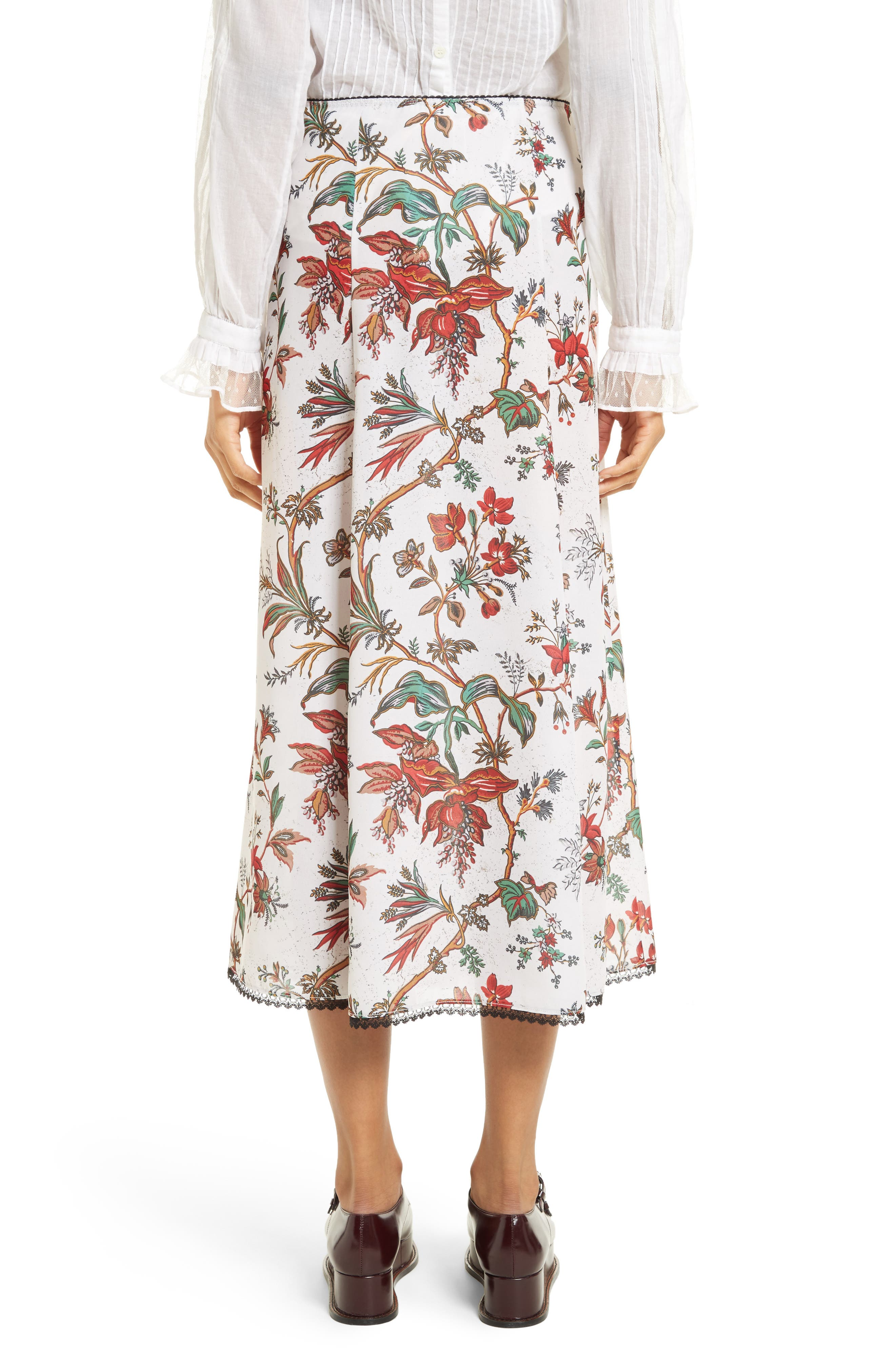 Alternate Image 3  - McQ Alexander McQueen Floral Print Skirt