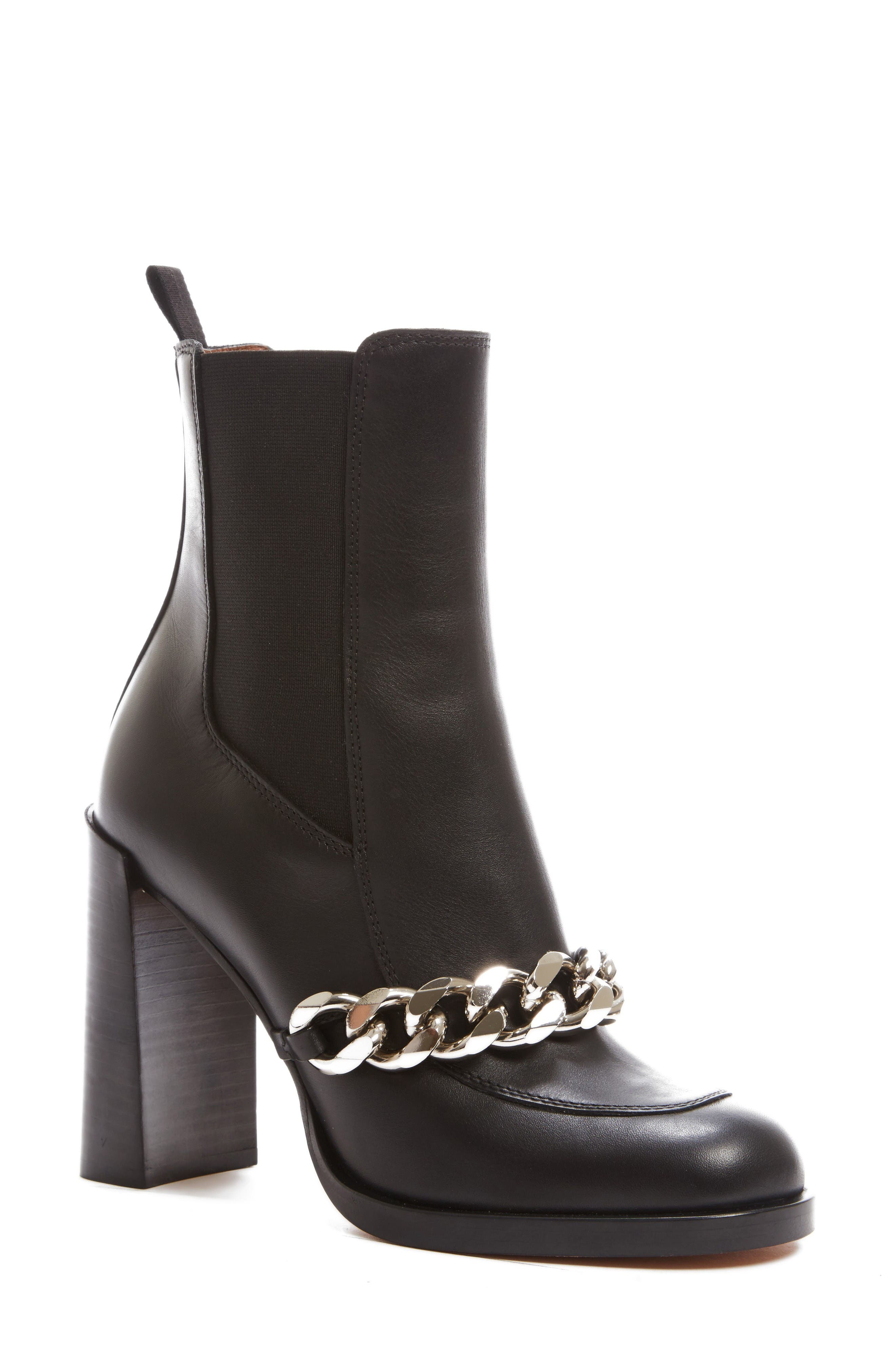 Givenchy Chain Chelsea Boot (Women)
