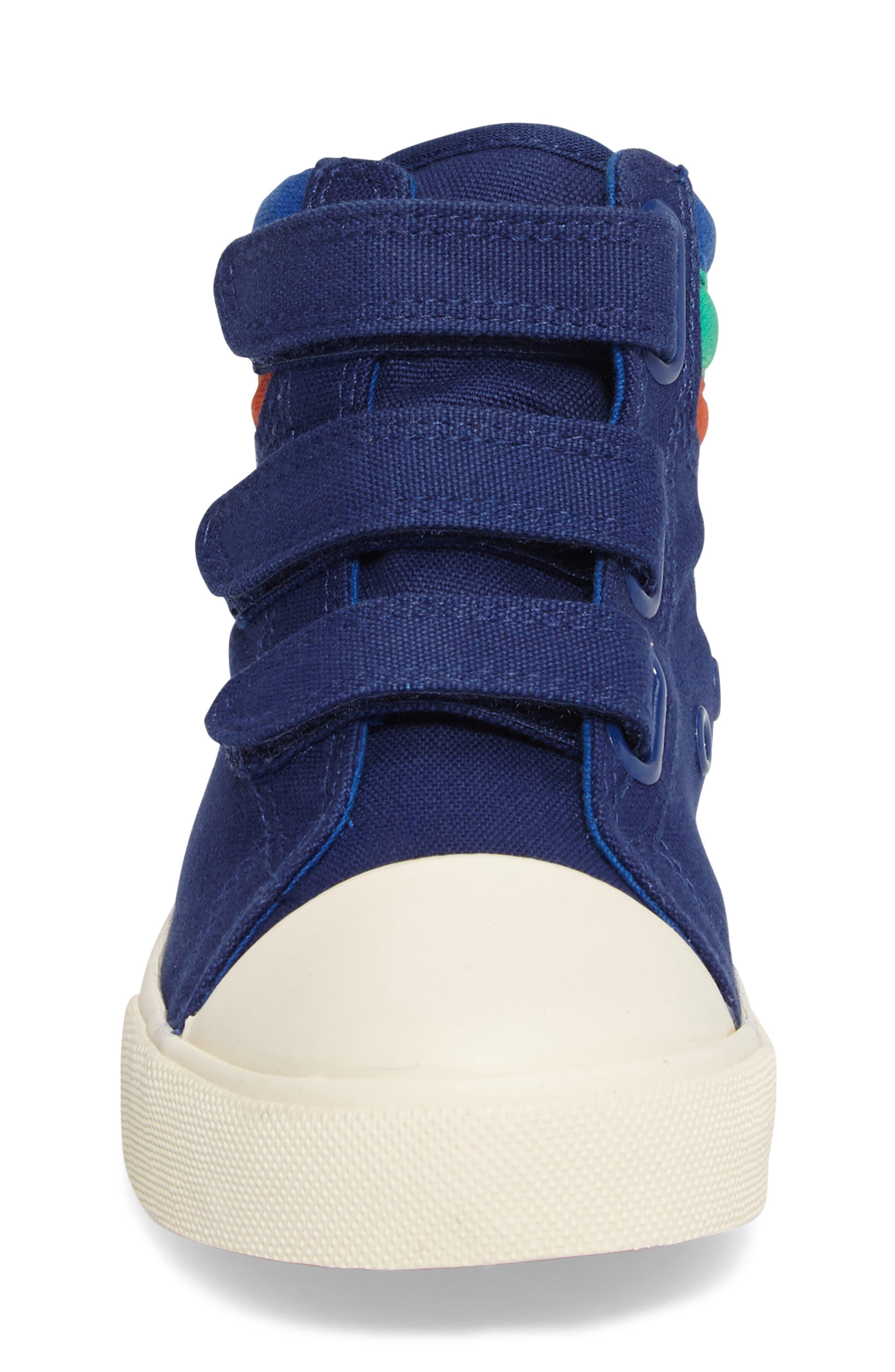 Alternate Image 4  - Mini Boden High Top Sneaker (Toddler, Little Kid & Big Kid)