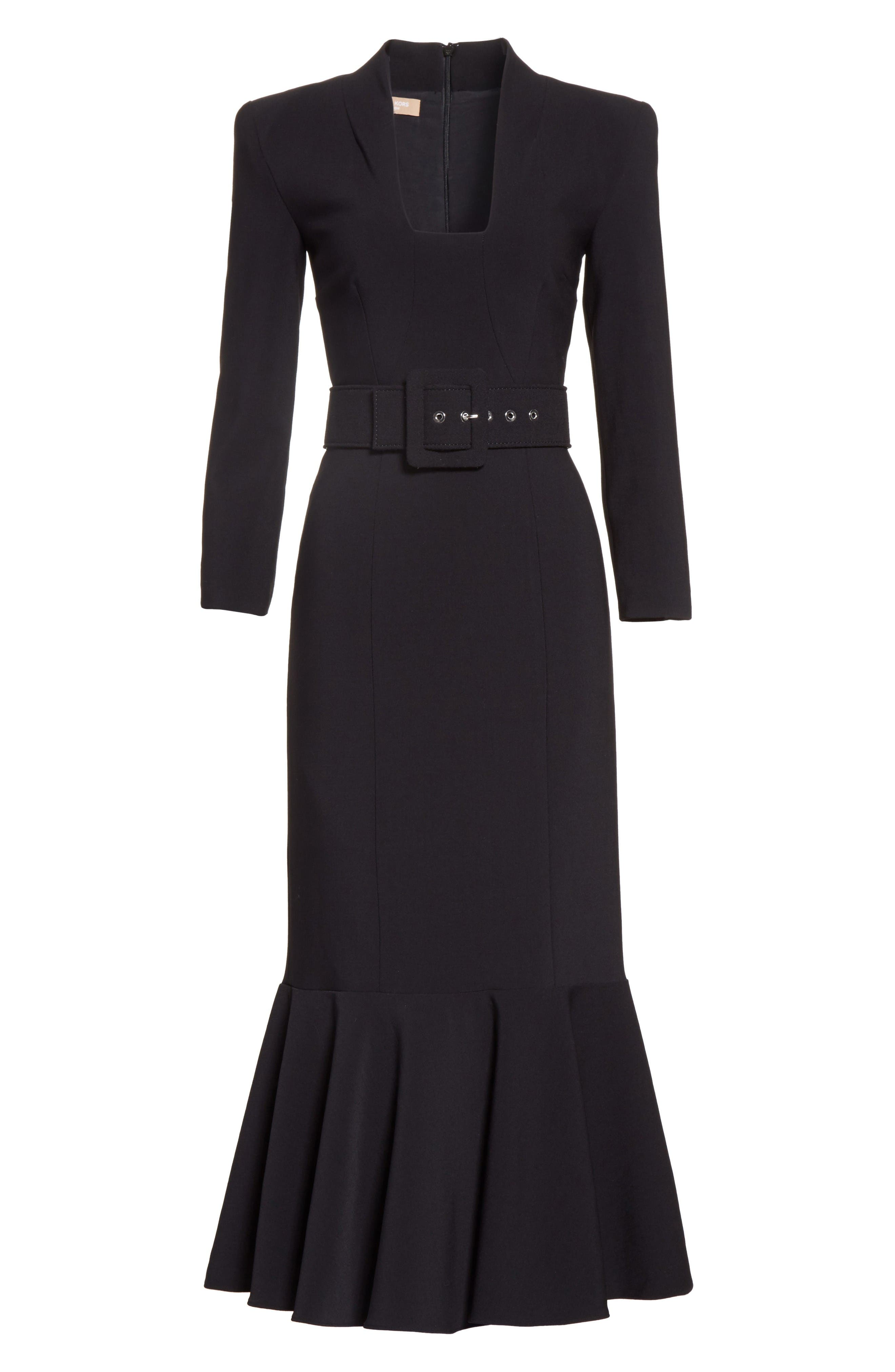 Alternate Image 4  - Michael Kors Stretch Pebble Crepe Bolero Sheath Dress
