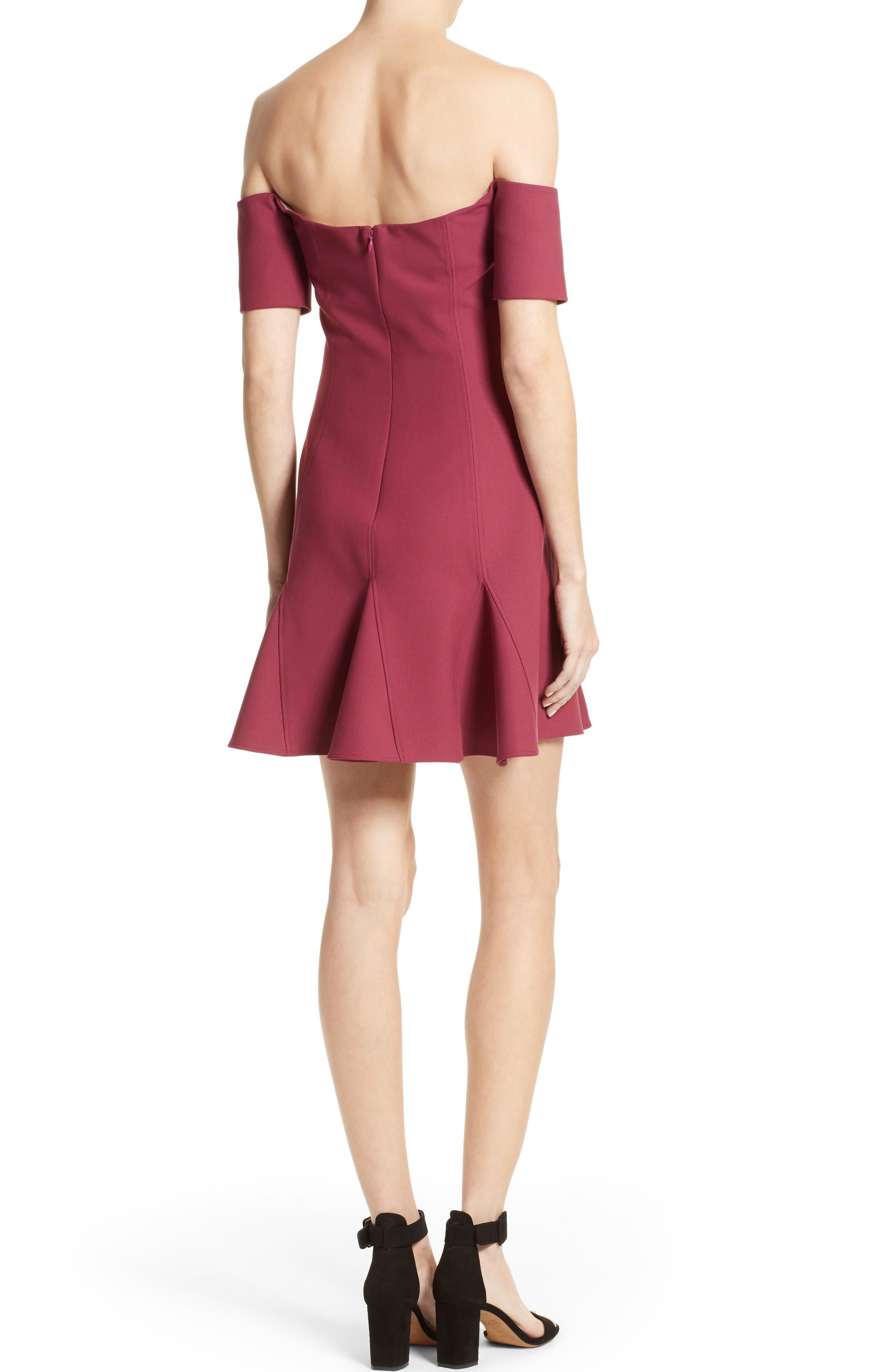 Alternate Image 2  - Cinq à Sept Elva Off the Shoulder Dress