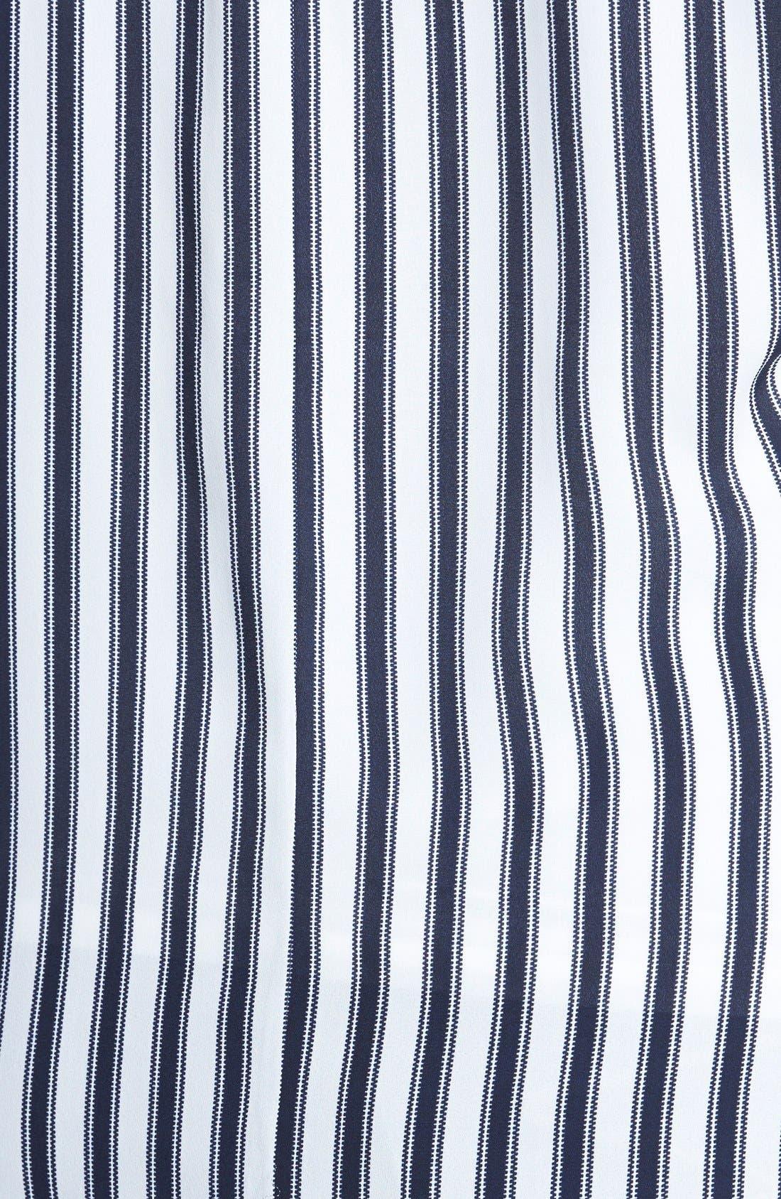 Alternate Image 3  - Sejour Split Back Soft Crepe Tunic Top (Plus Size)