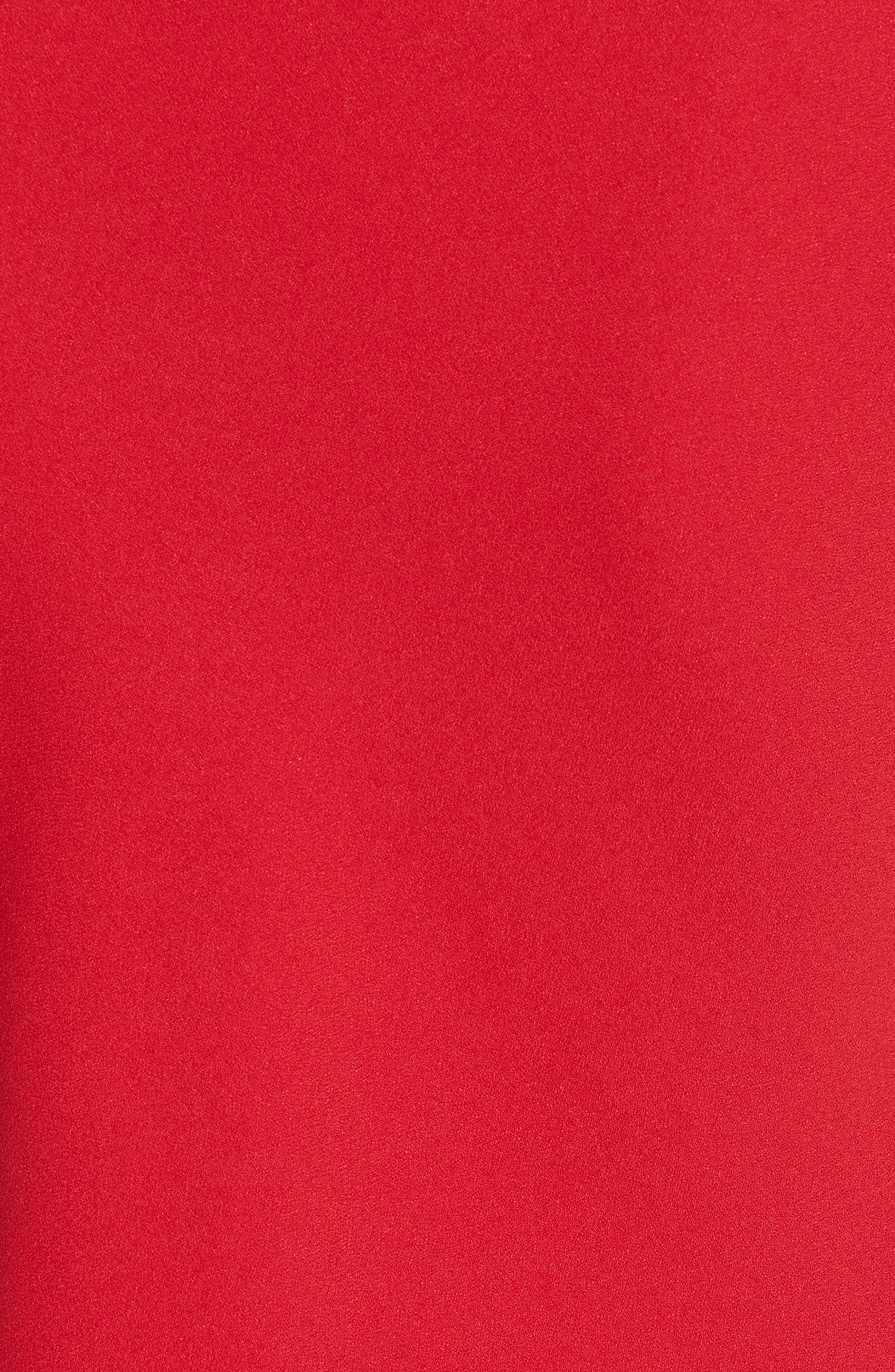 Alternate Image 3  - Victoria Beckham Satin Crepe Drape Top