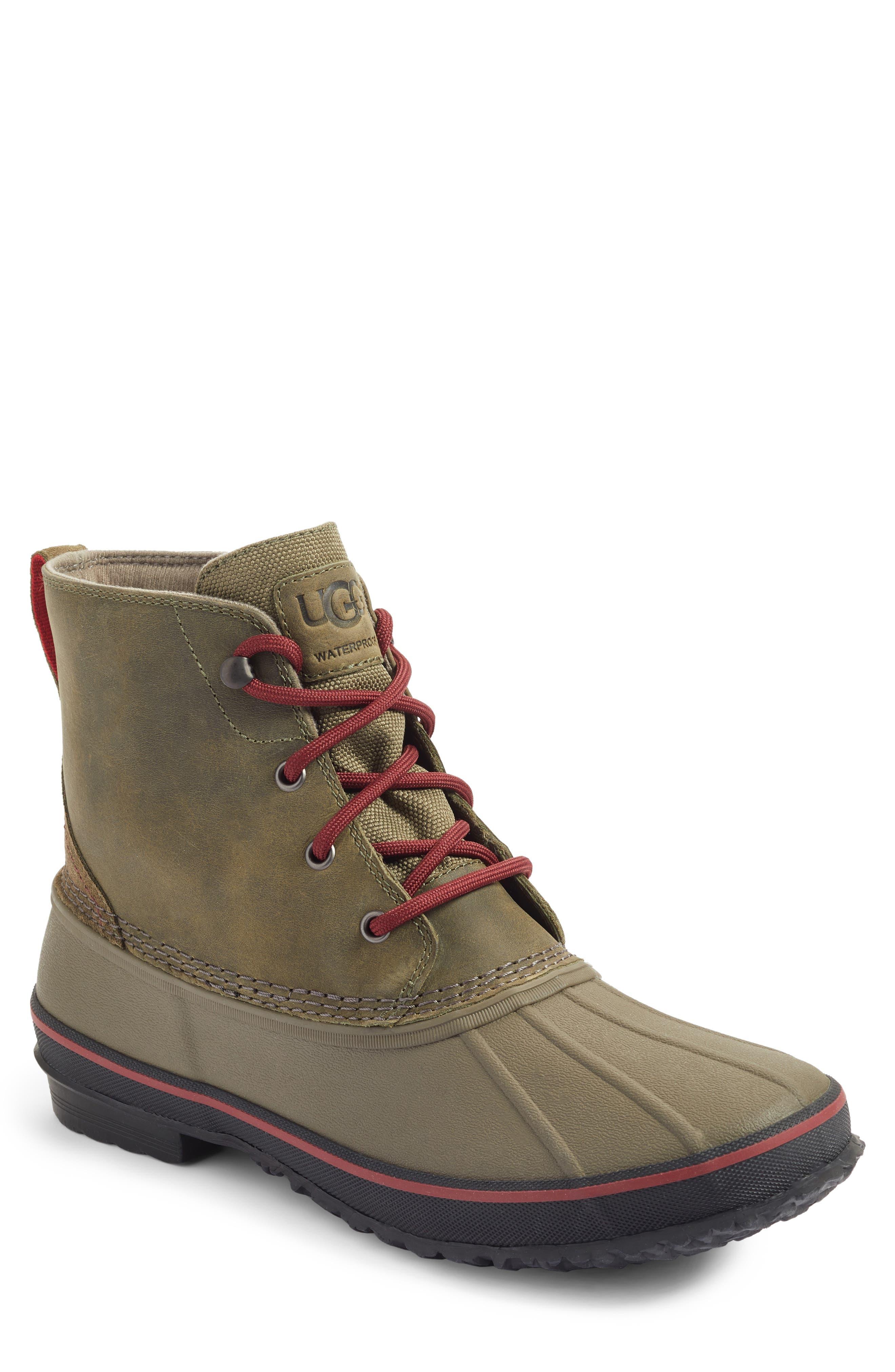 Zetik Rain Boot,                             Main thumbnail 1, color,                             Burnt Olive