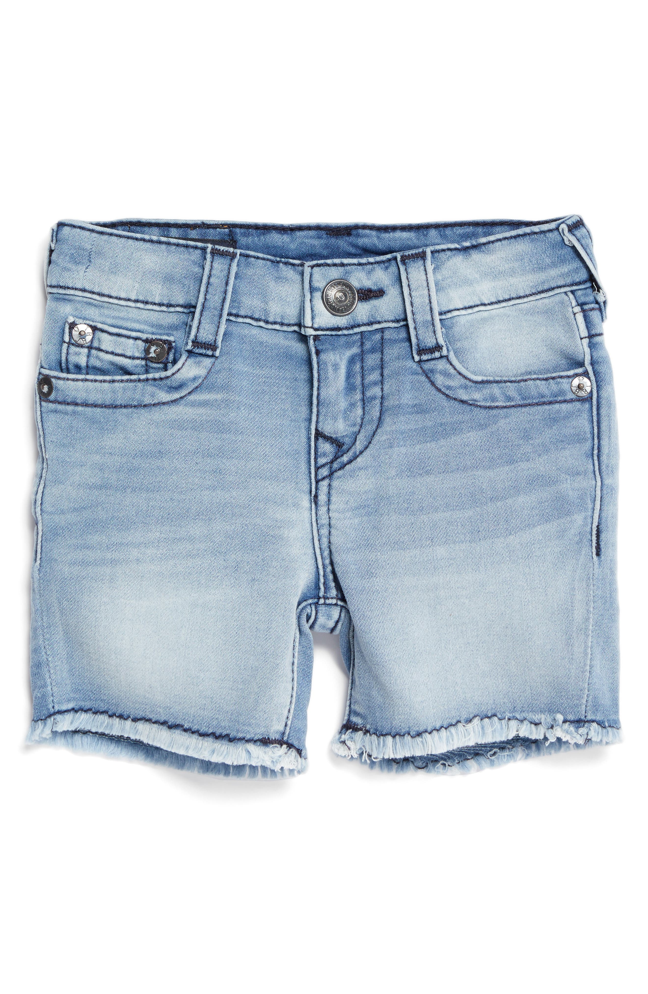 Main Image - True Religion Geno Denim Shorts (Baby)