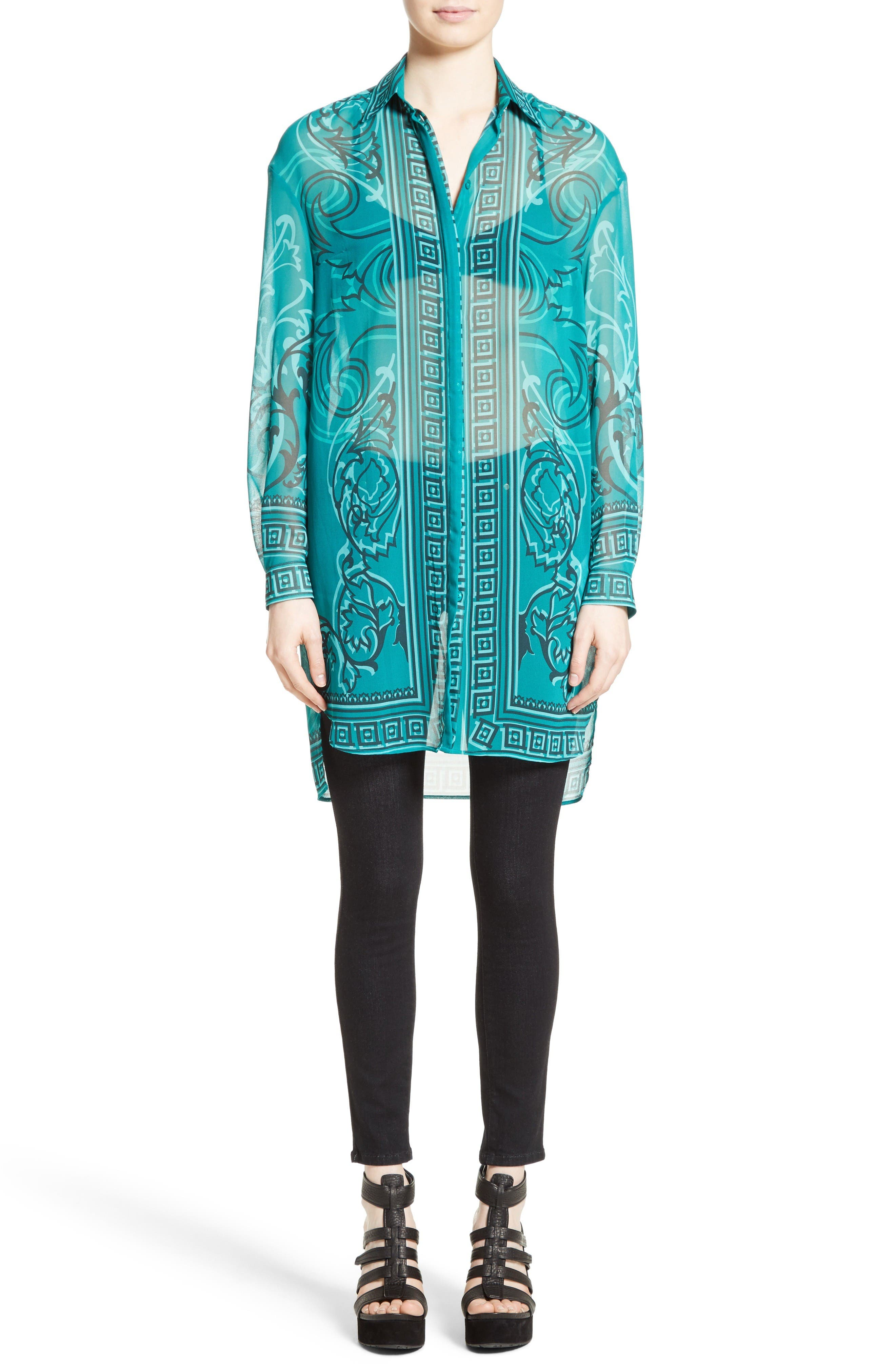 Alternate Image 7  - Versace Collection Baroque Print Tunic