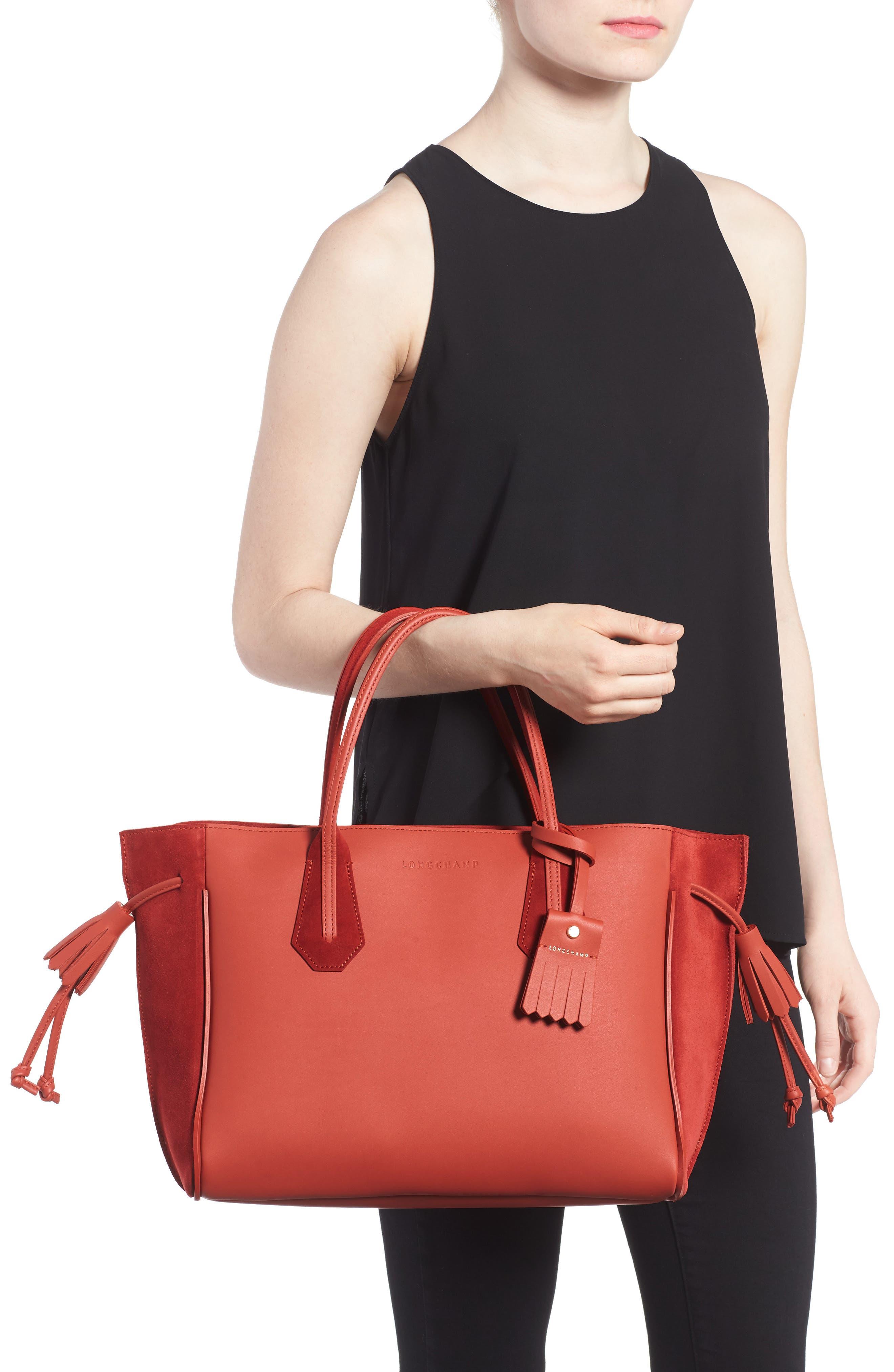 Alternate Image 2  - Longchamp Medium Penelope Fastaisie Leather Tote