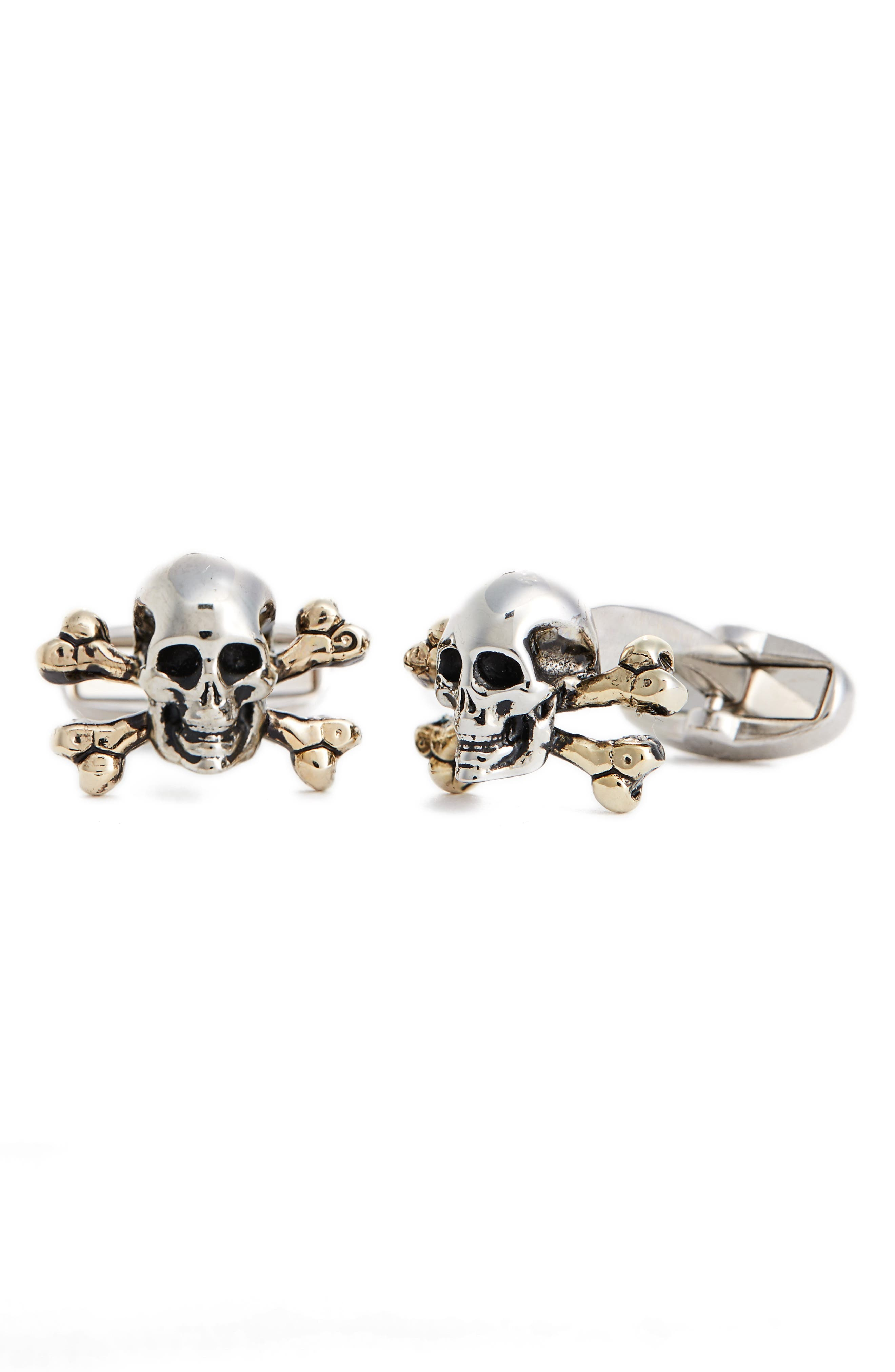 Alternate Image 1 Selected - Paul Smith Skull & Crossbones Cuff Links