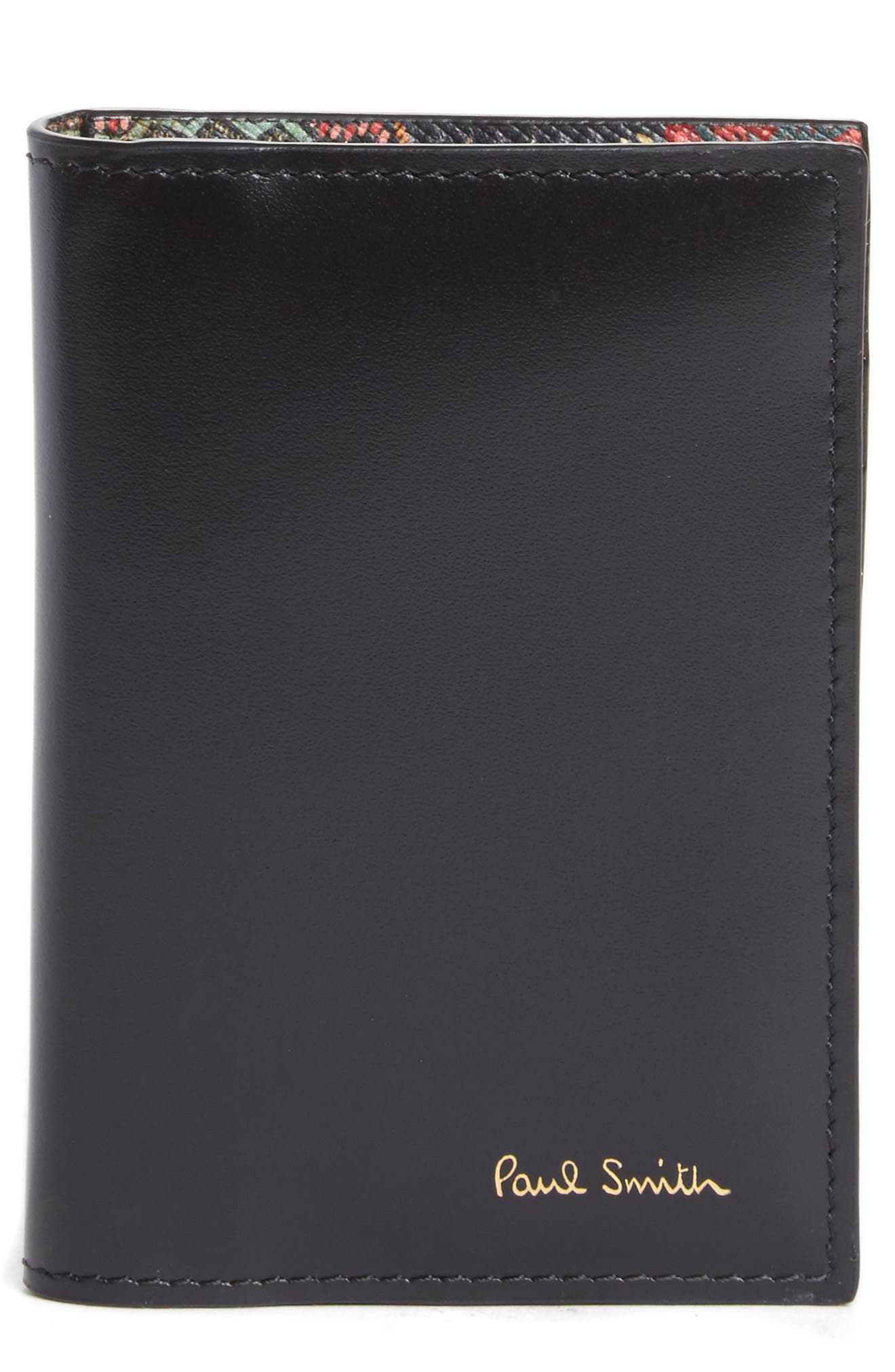 Alternate Image 1 Selected - Paul Smith Horniman Print Leather Wallet