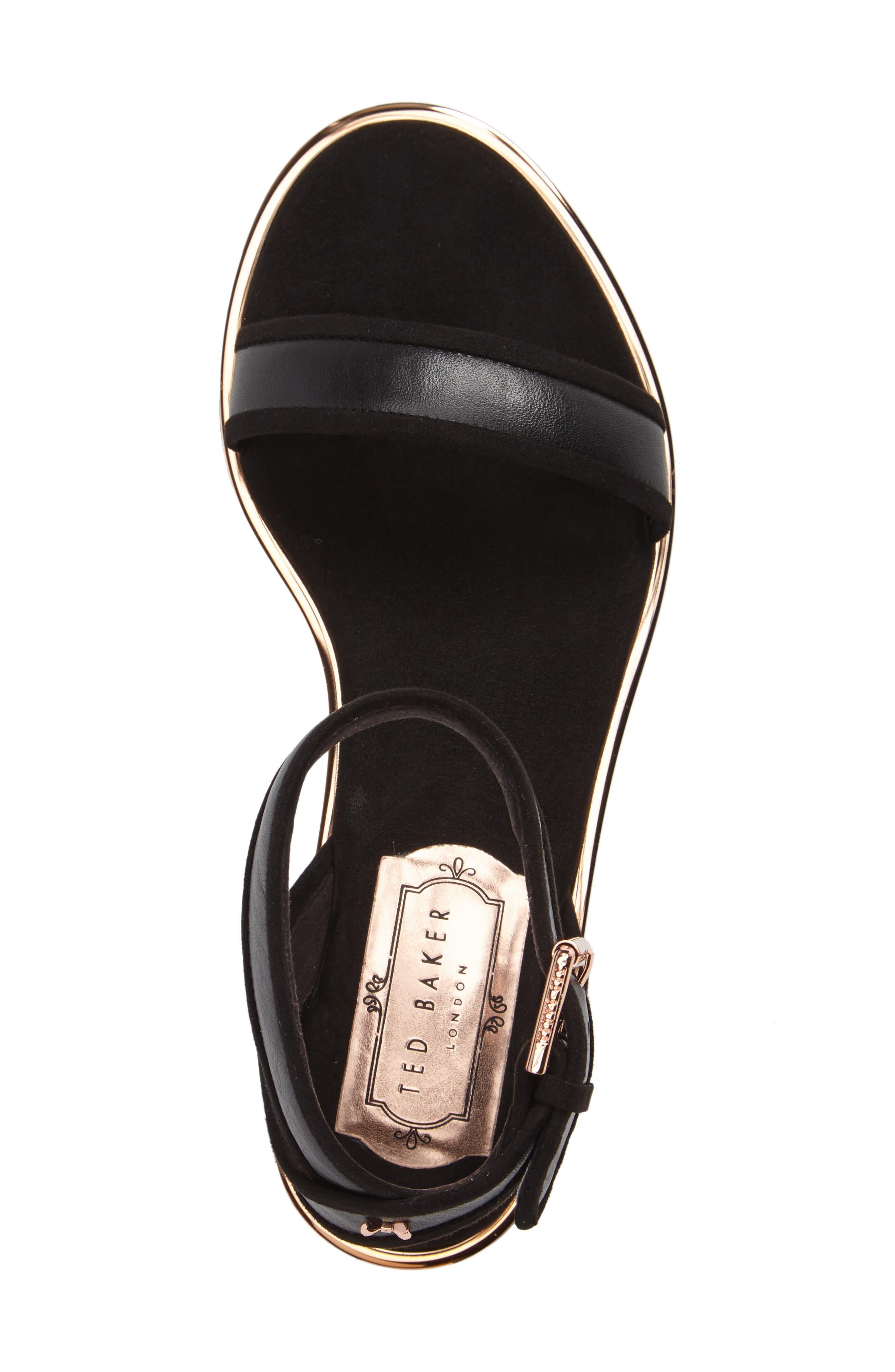 Alternate Image 4  - Ted Baker Alella Ankle Strap Sandal (Women)