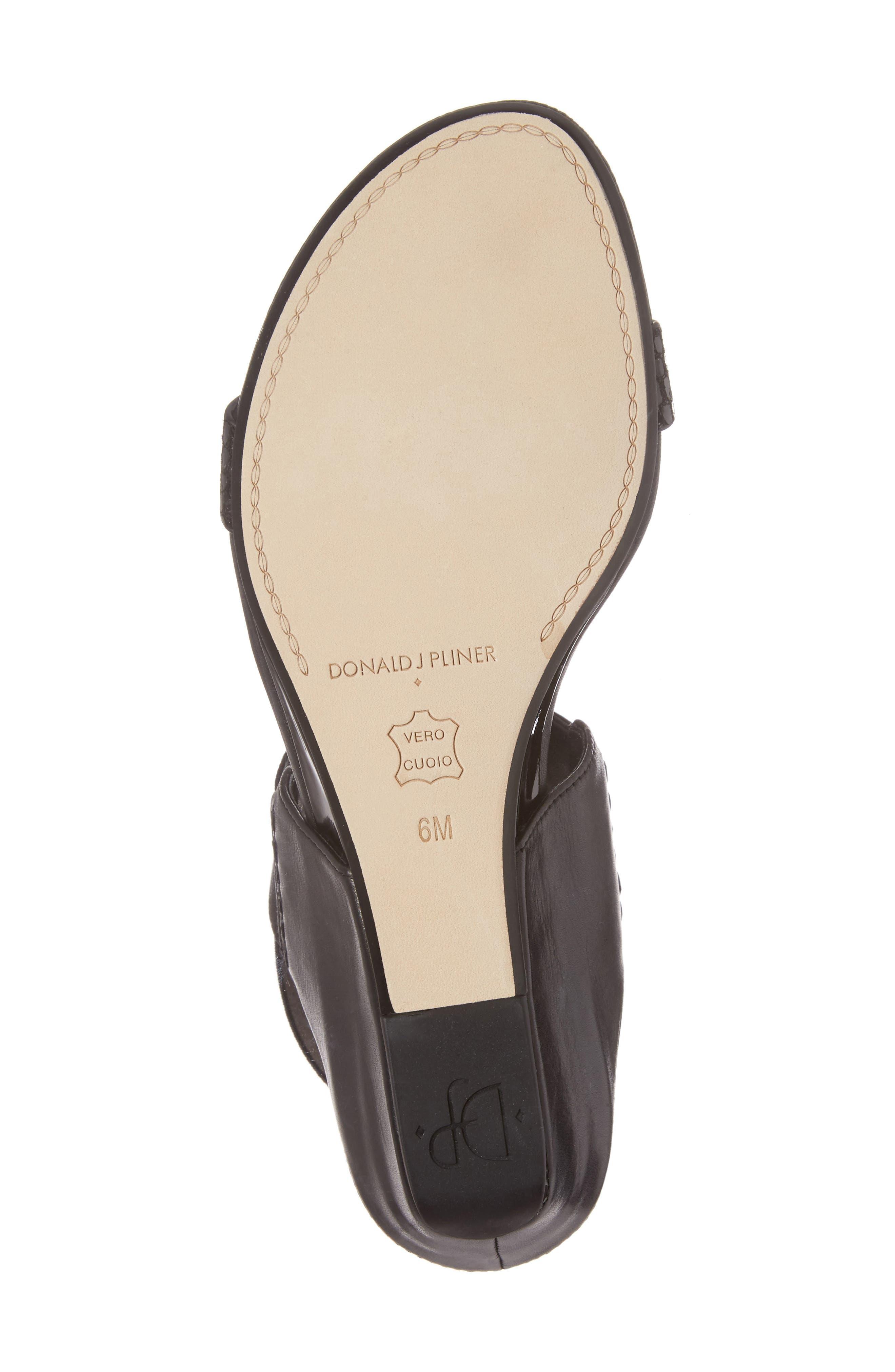 Alternate Image 6  - Donald J Pliner Eeva Wedge Sandal (Women)