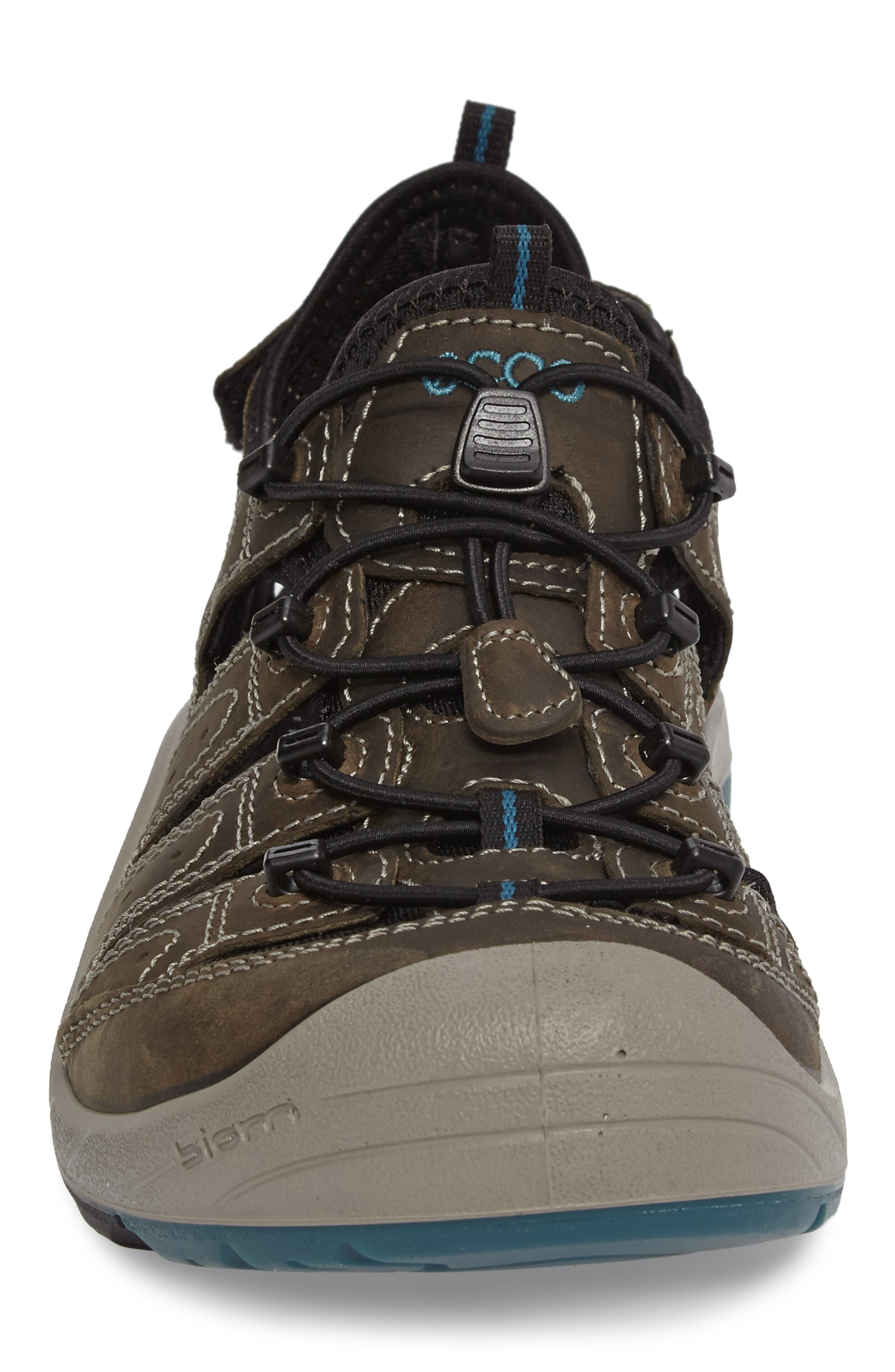 'BIOM Delta Offroad' Sandal,                             Alternate thumbnail 4, color,                             Tarmac/ Black