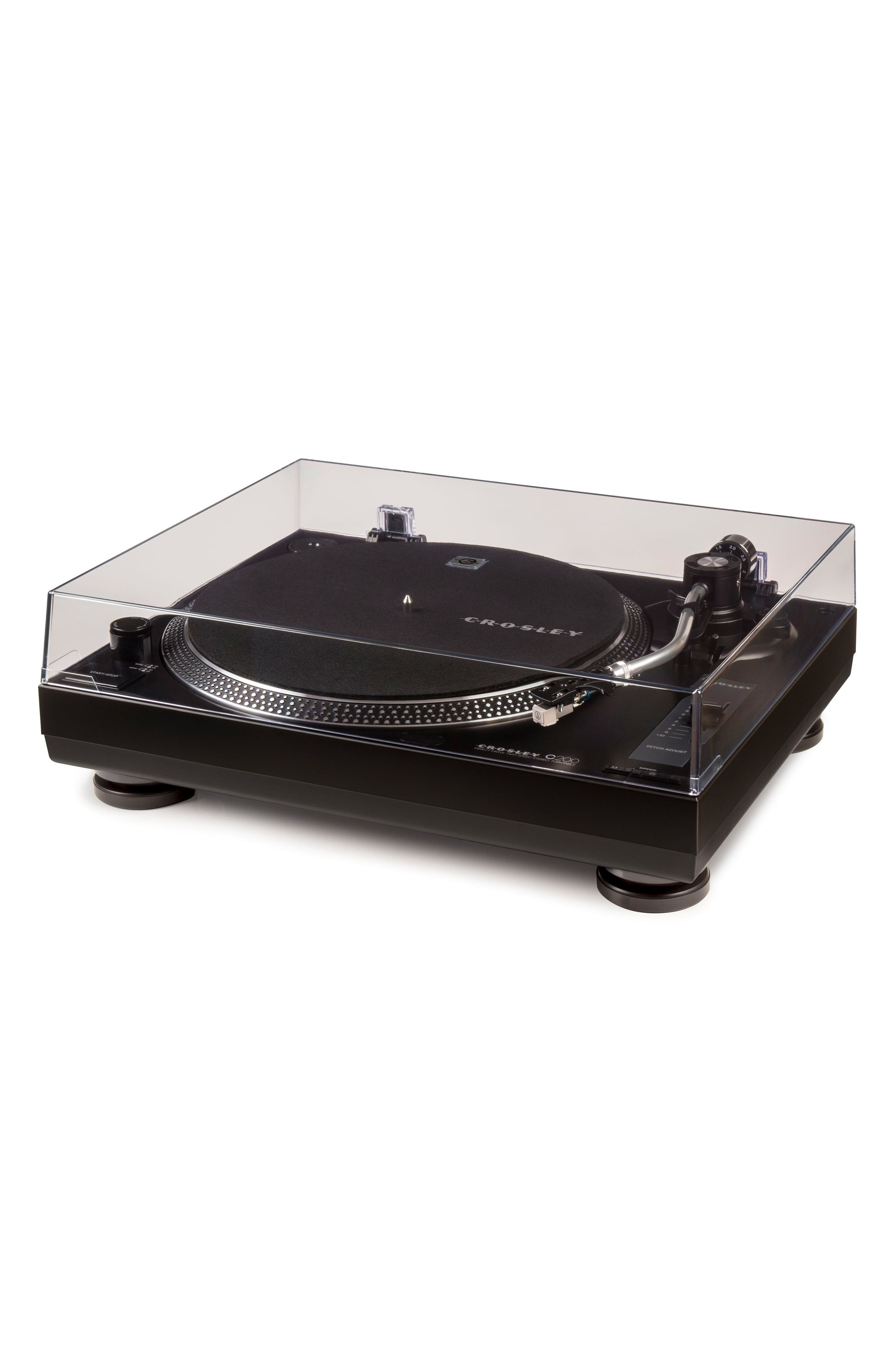 C200 Turntable,                             Alternate thumbnail 2, color,                             Black