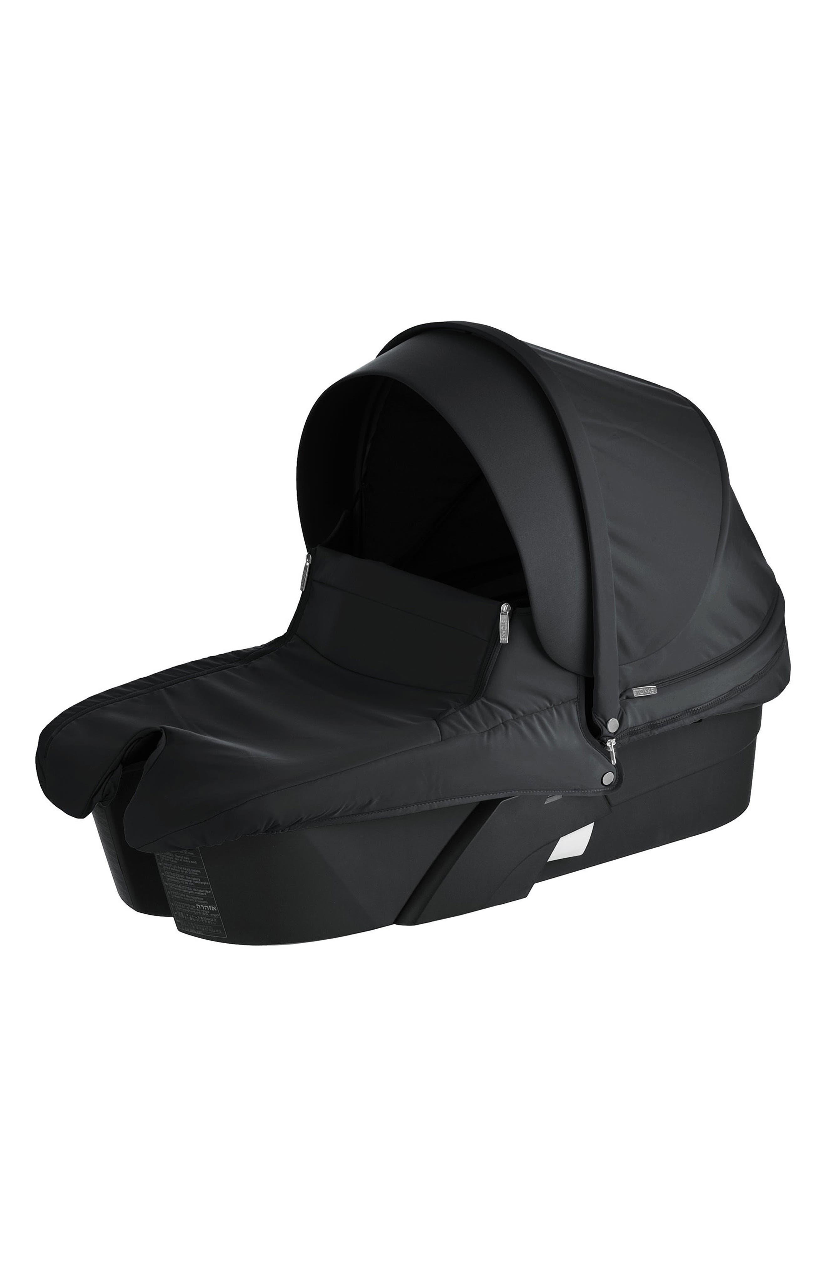 Alternate Image 1 Selected - Stokke Xplory® Black Frame Stroller Carry Cot