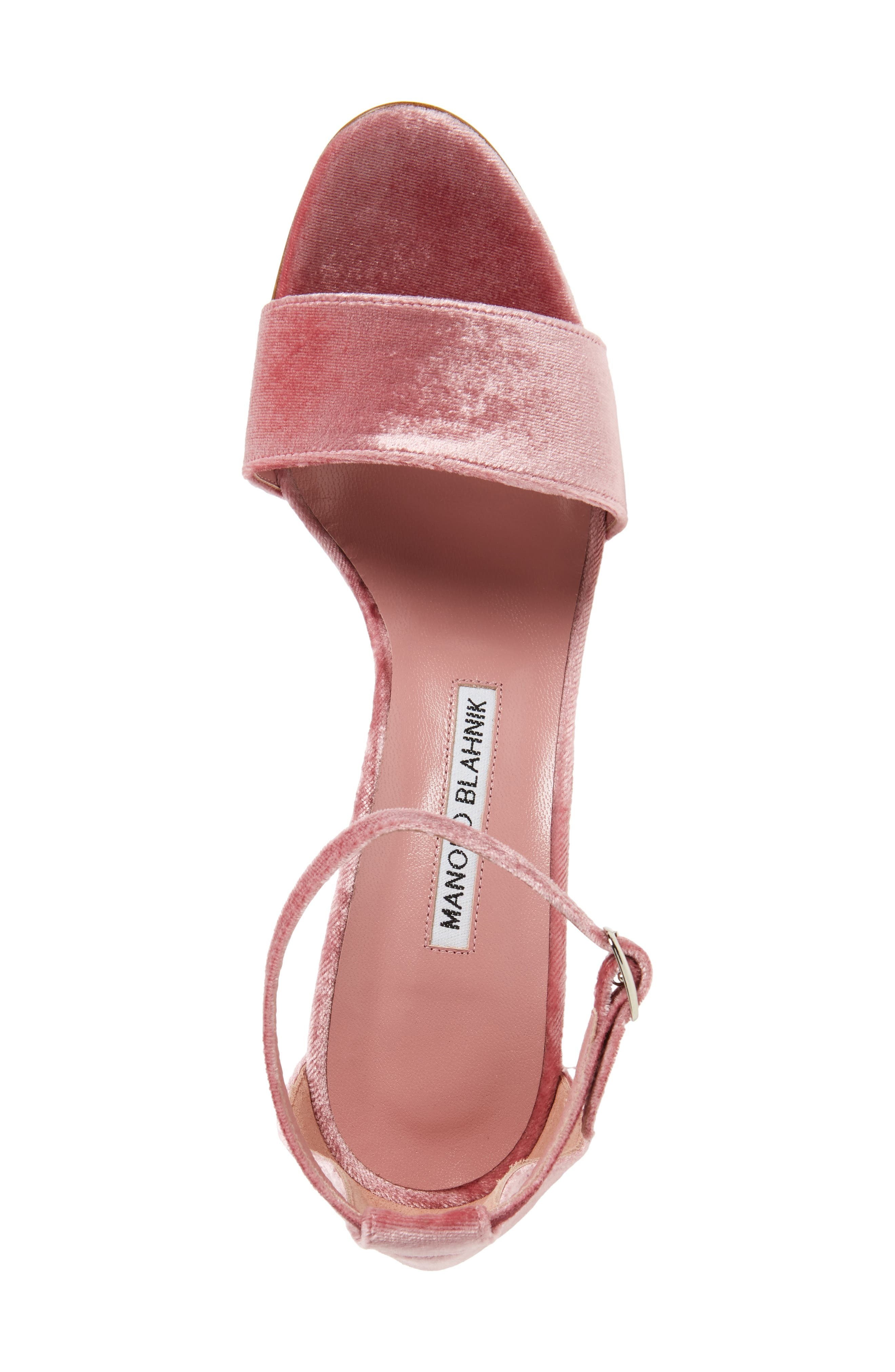 Alternate Image 5  - Manolo Blahnik Tres Sandal (Women)