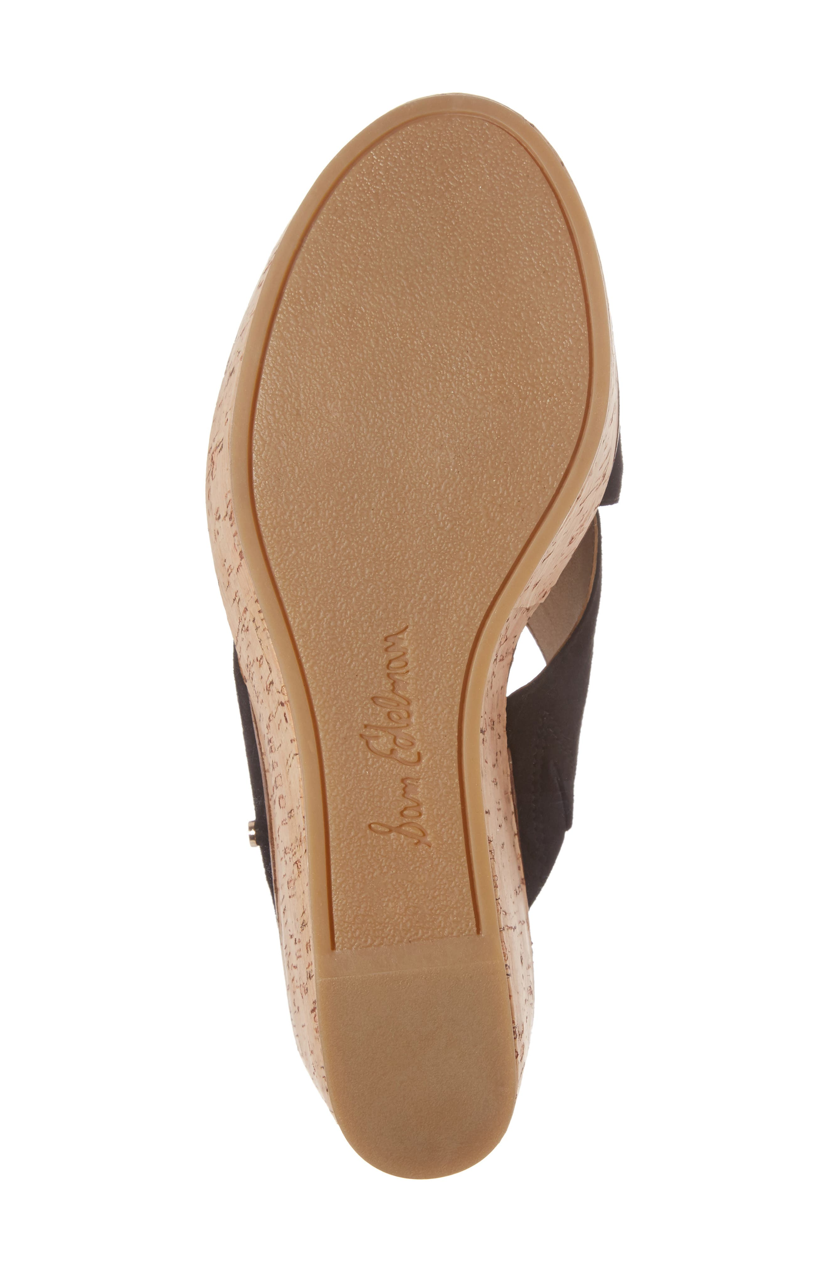 Alternate Image 6  - Sam Edelman Darlene Platform Wedge Sandal (Women)