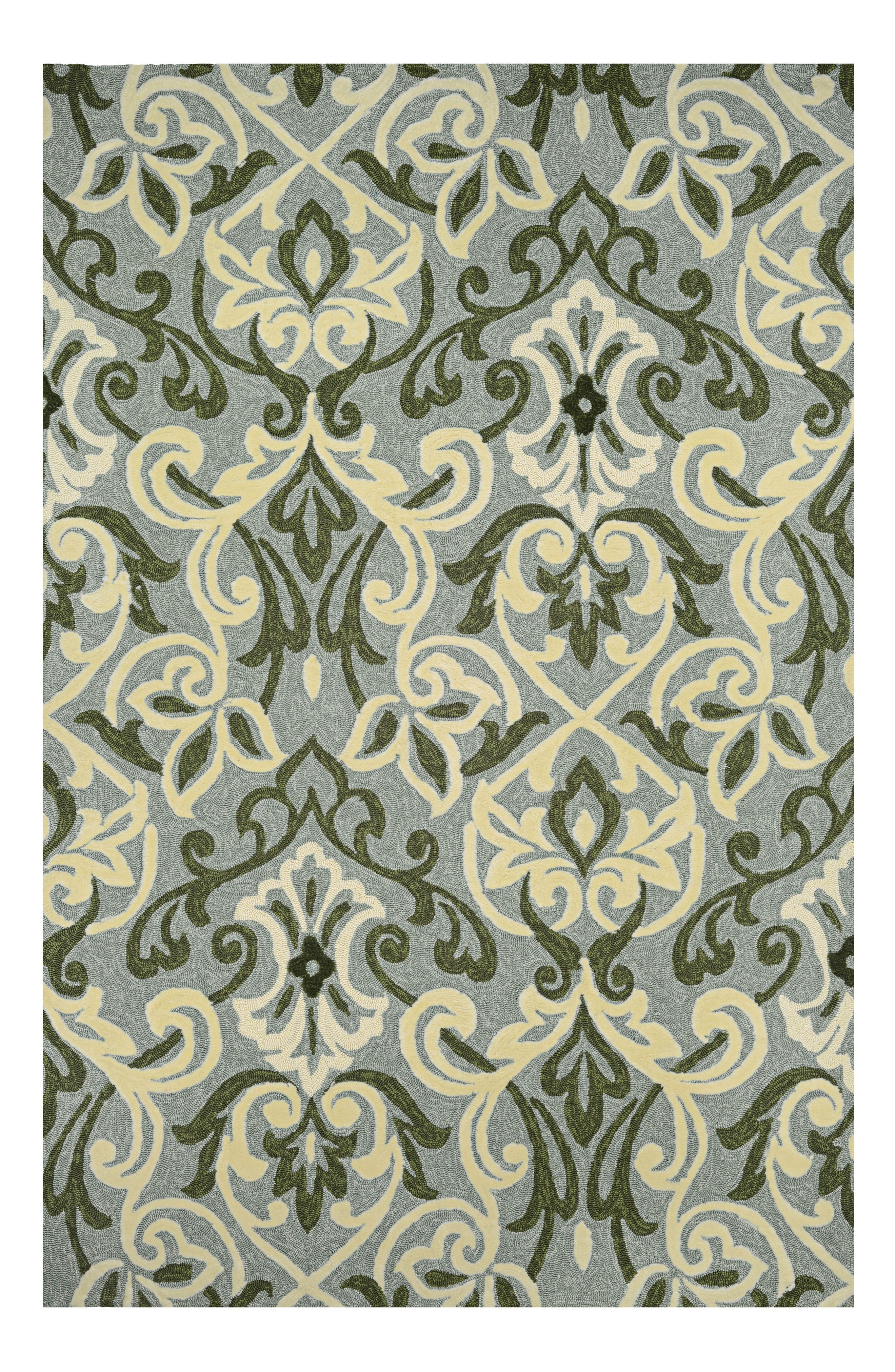 Amelie Indoor/Outdoor Rug,                             Main thumbnail 1, color,                             Sage