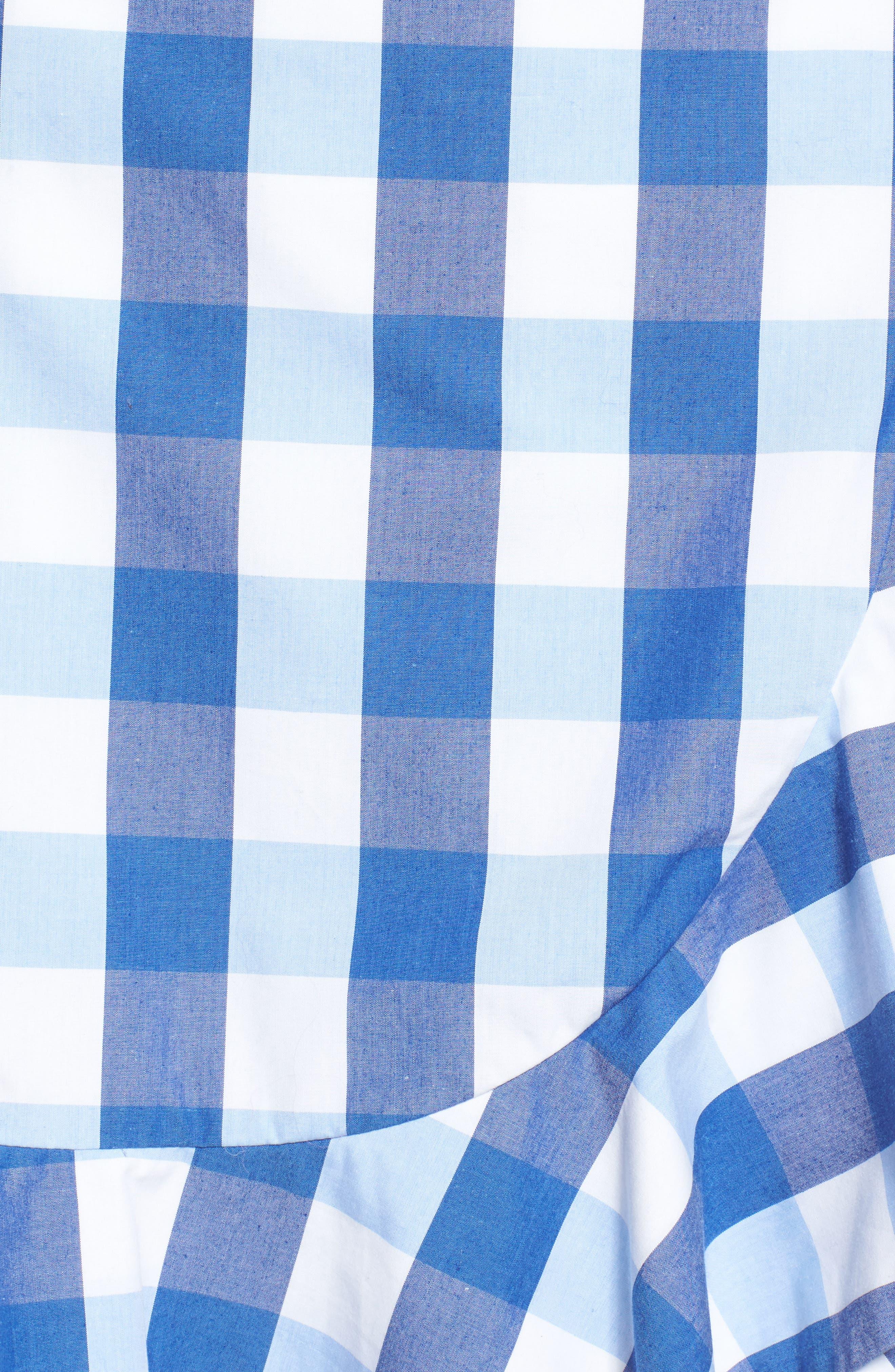 Alternate Image 5  - Draper James Check Miniskirt
