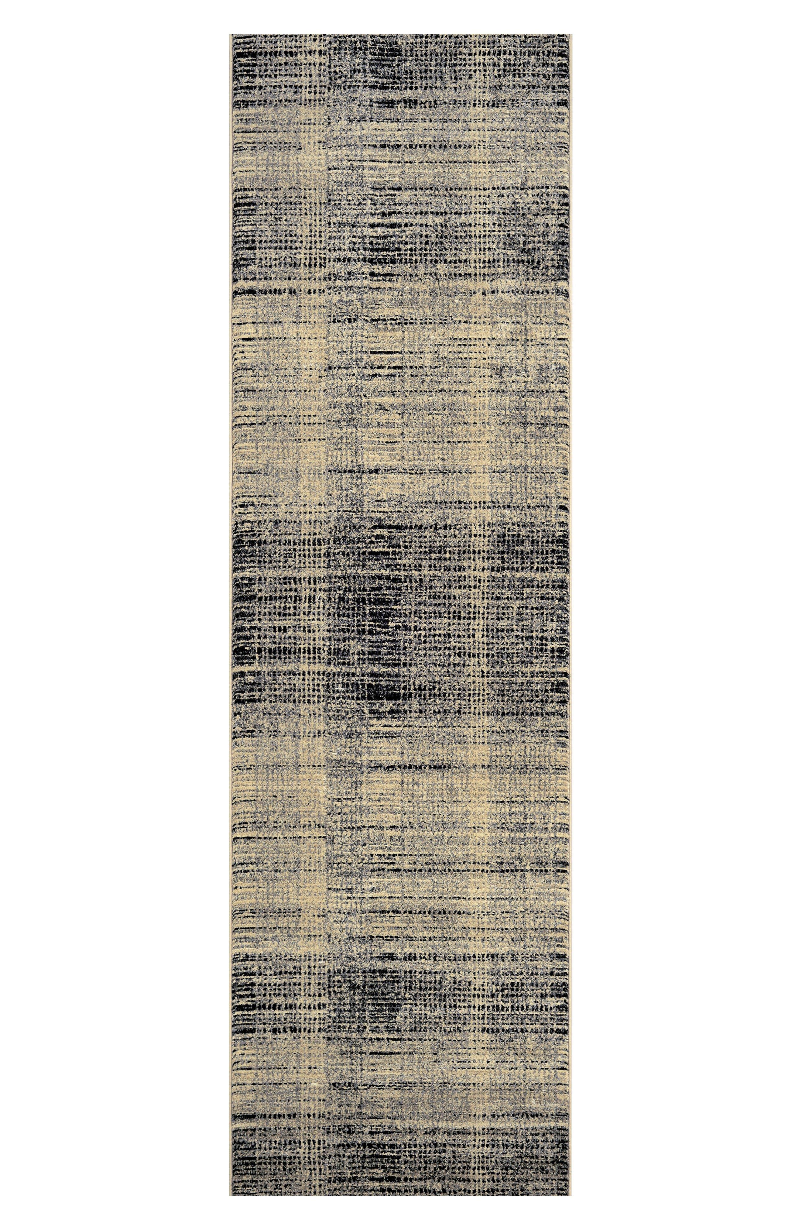 Suffolk Indoor/Outdoor Rug,                             Alternate thumbnail 2, color,                             Black/ Grey