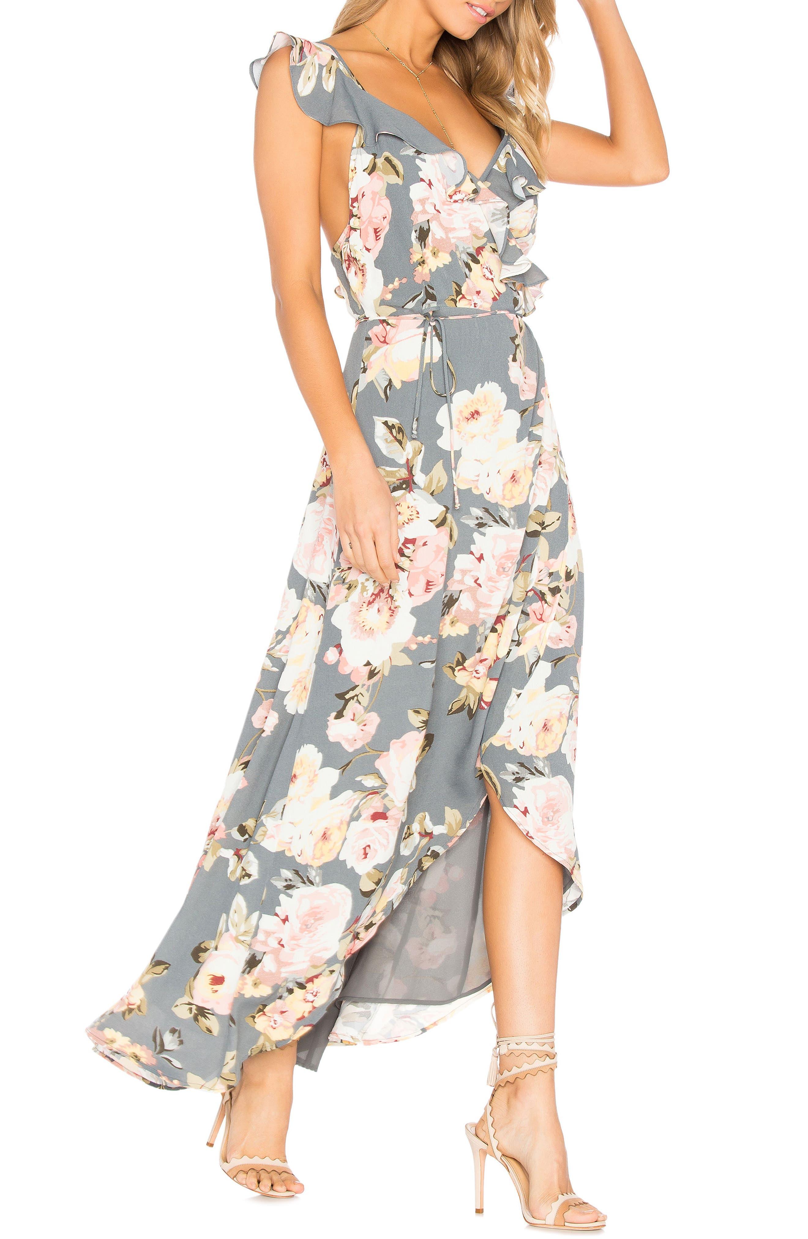 Alternate Image 3  - Privacy Please Fillmore Floral Print Dress