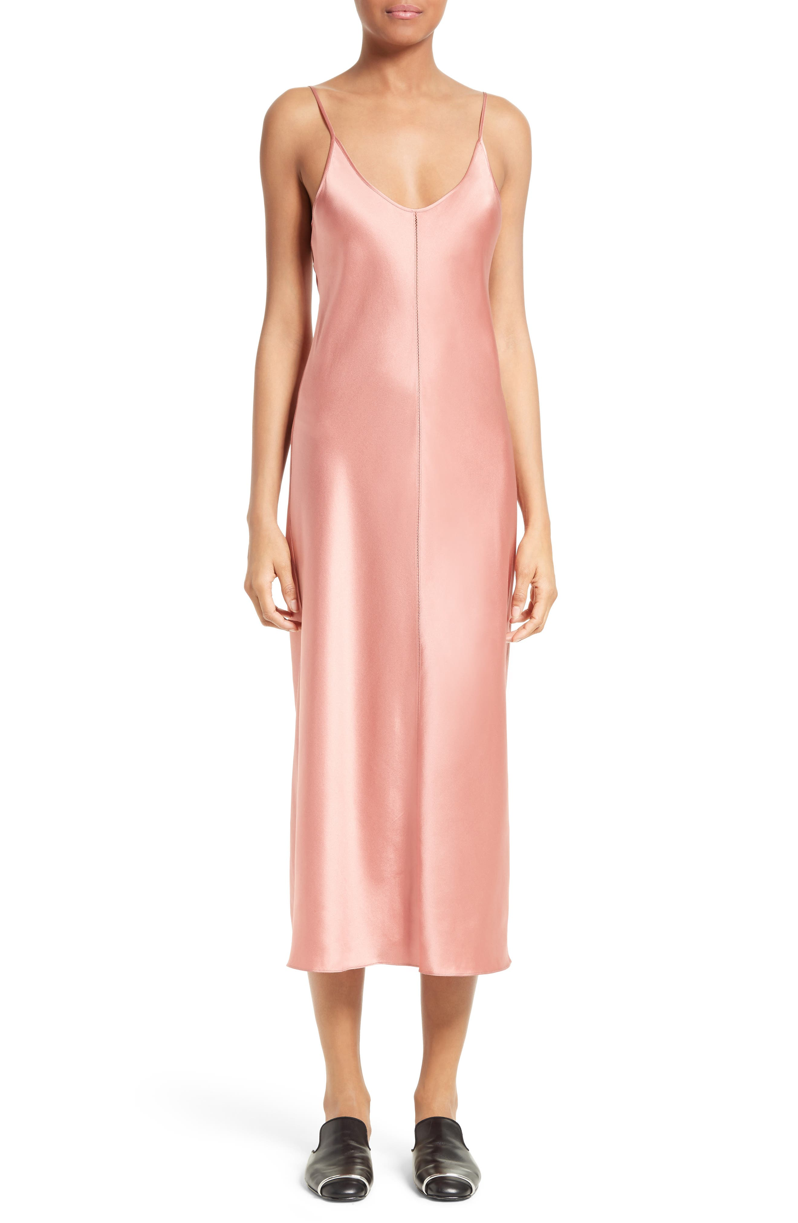 T BY ALEXANDER WANG Silk Slipdress