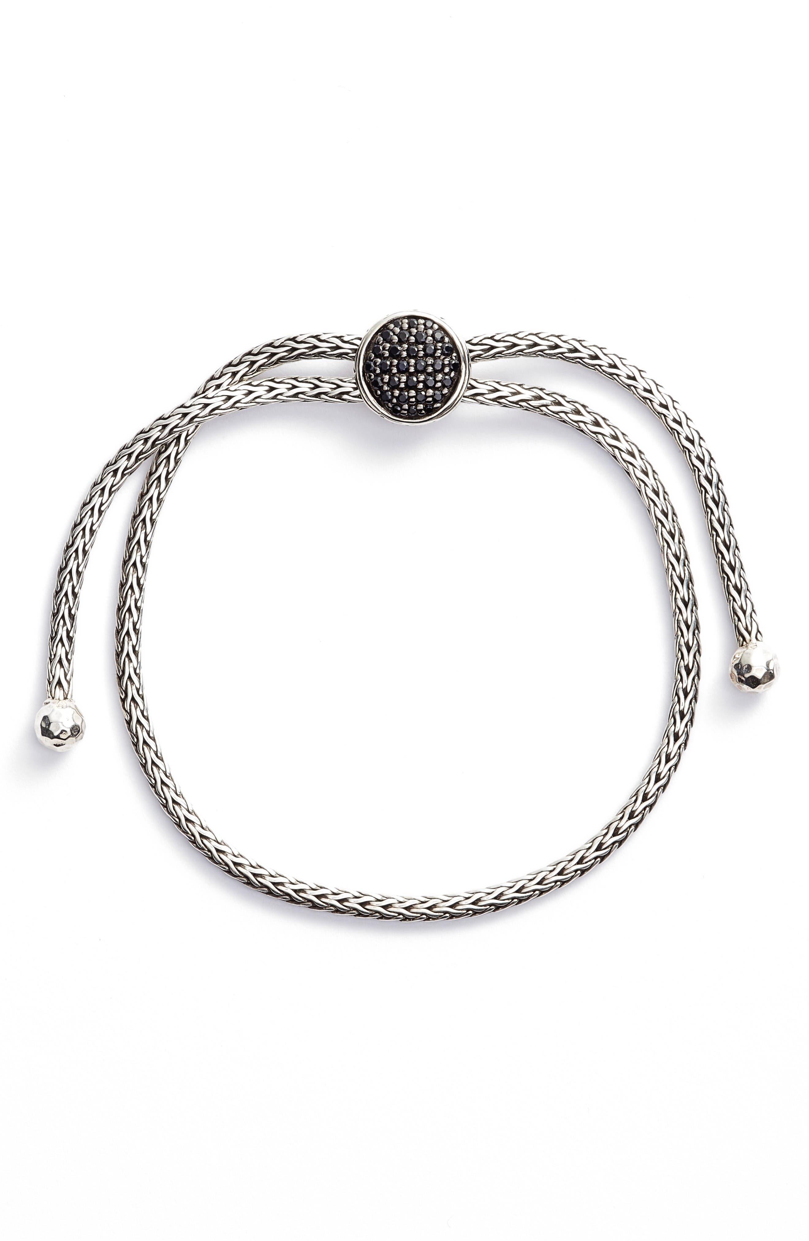 Alternate Image 1 Selected - John Hardy Classic Chain Sapphire Pull Bracelet