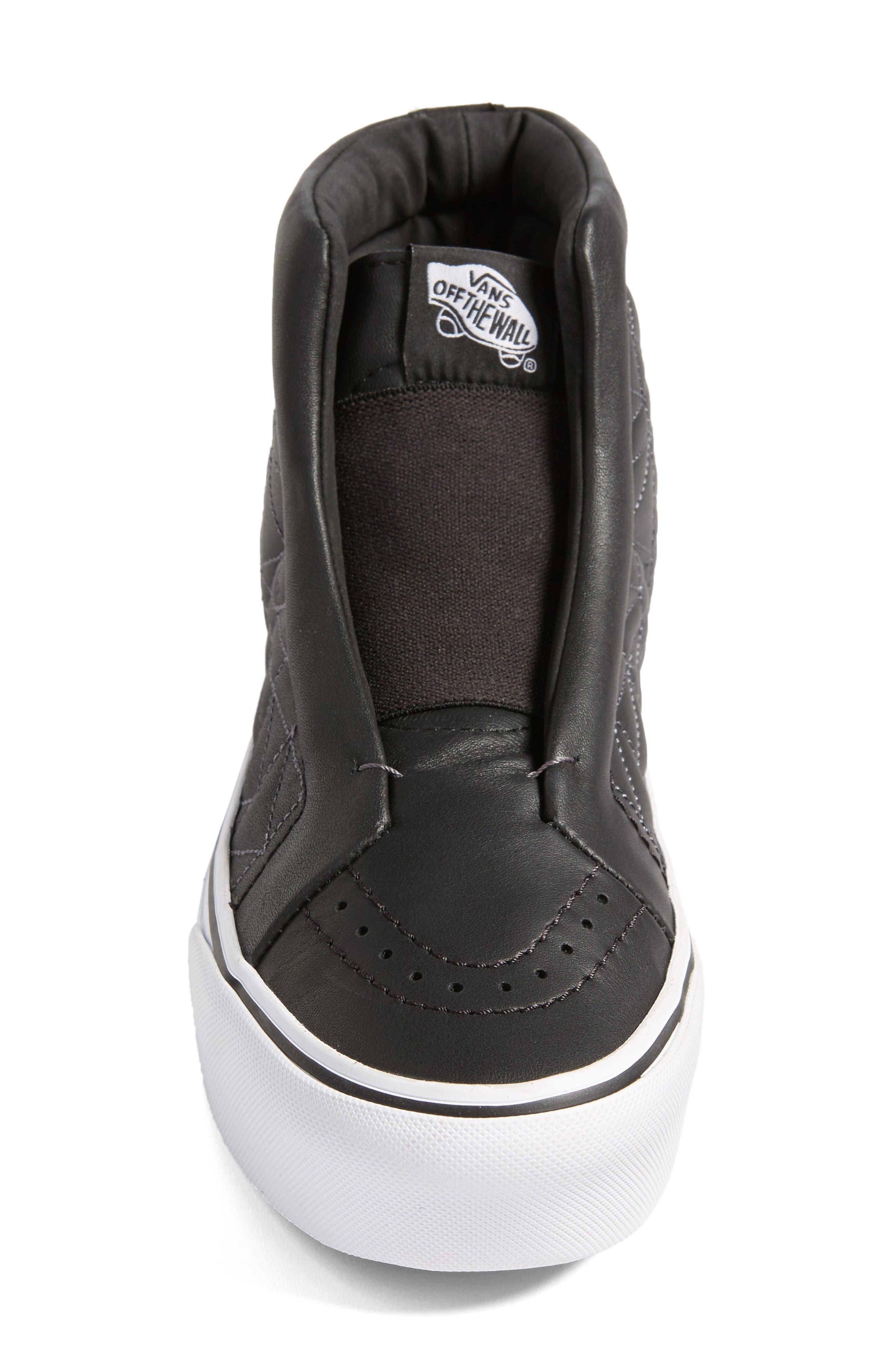 Alternate Image 5  - Vans x KARL LAGERFELD SK8-Hi Leather Sneaker (Women)