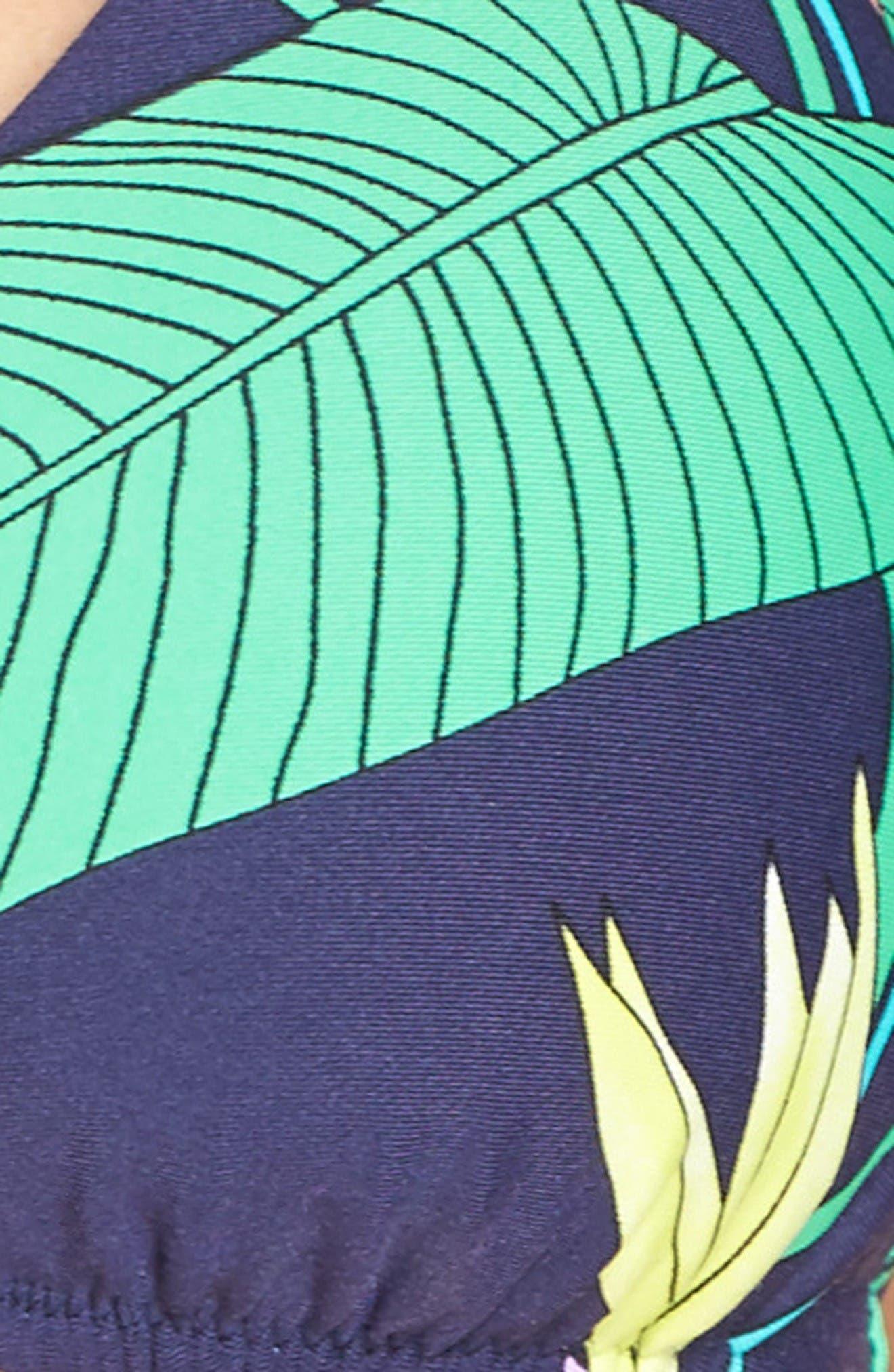 Midnight Paradise Bikini Top,                             Alternate thumbnail 5, color,                             Blue Multi