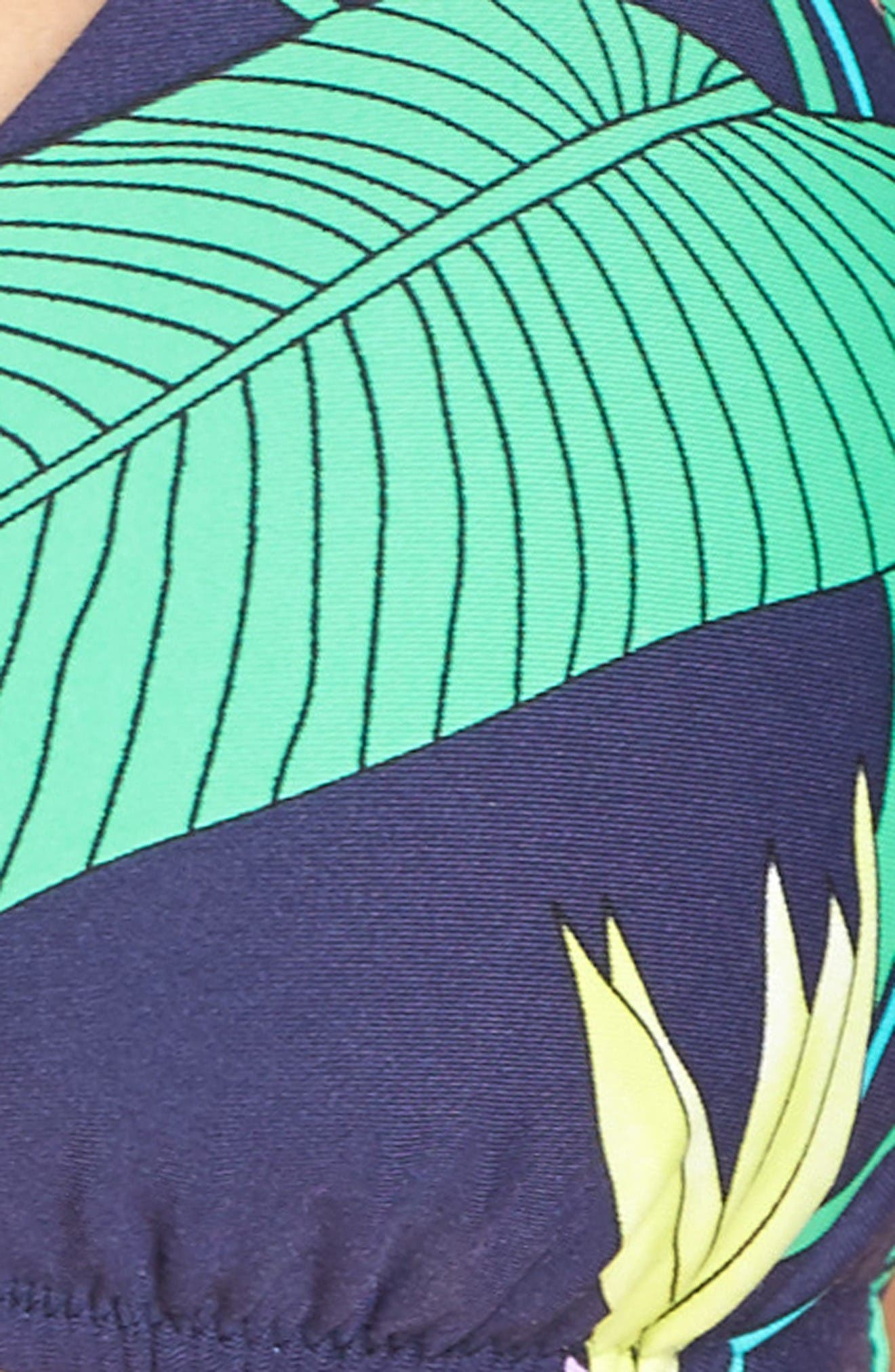 Alternate Image 5  - Trina Turk Midnight Paradise Bikini Top