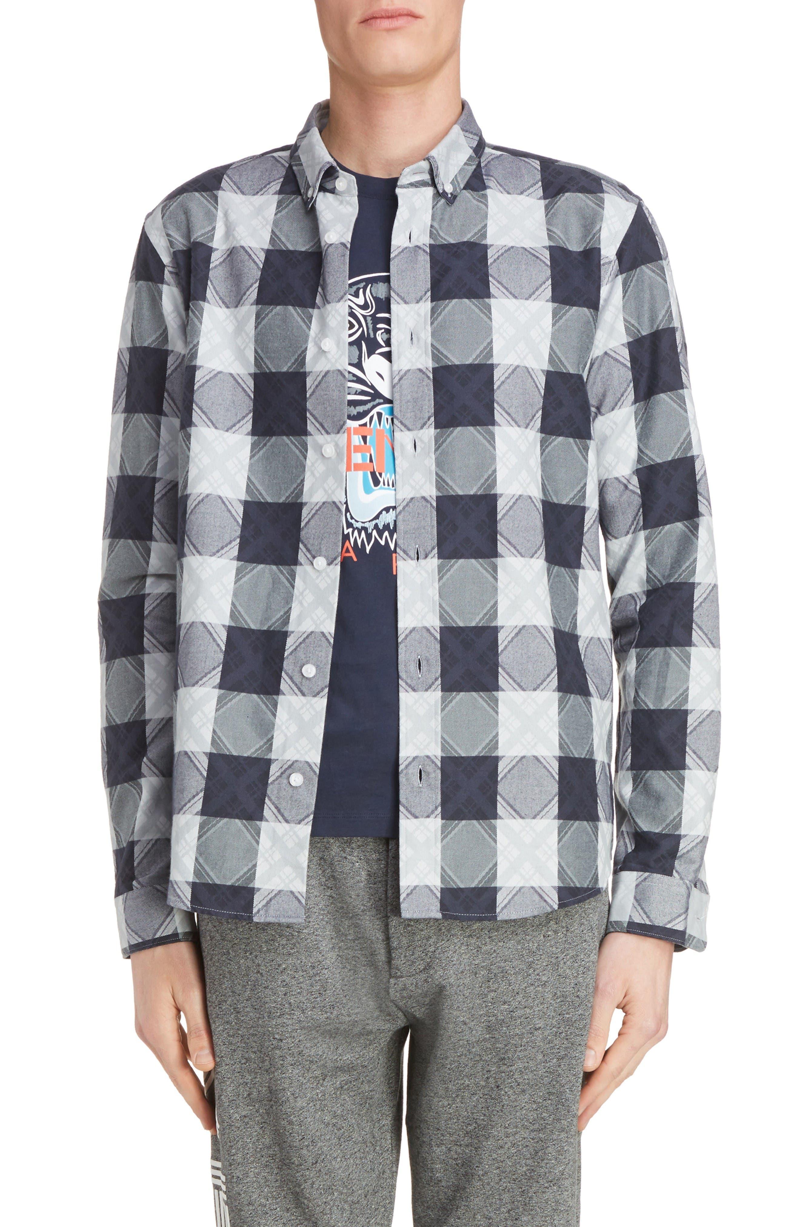 KENZO Cotton Sport Shirt