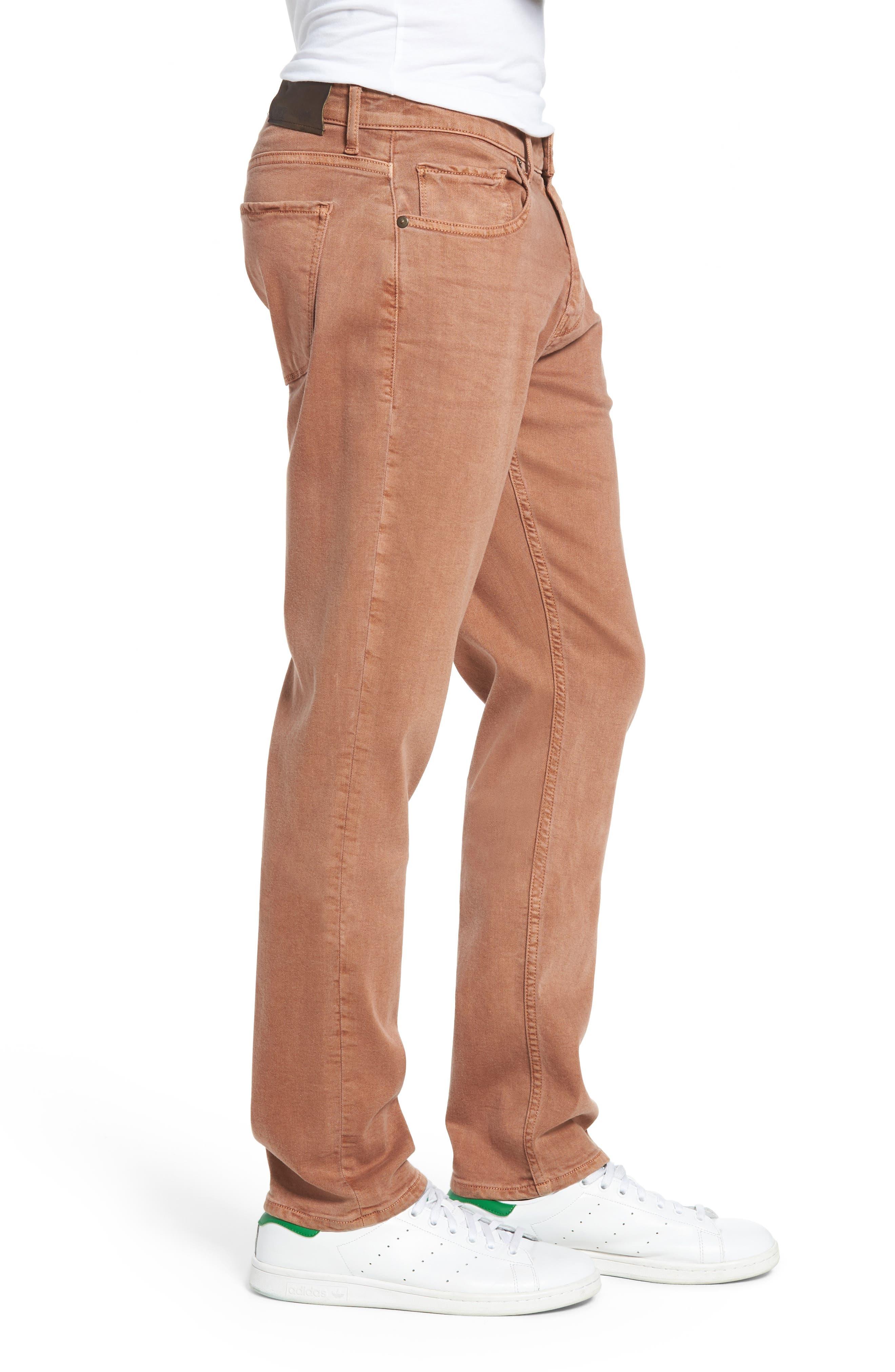 Alternate Image 3  - PAIGE Transcend - Federal Slim Straight Leg Jeans (Vintage Bronzed)