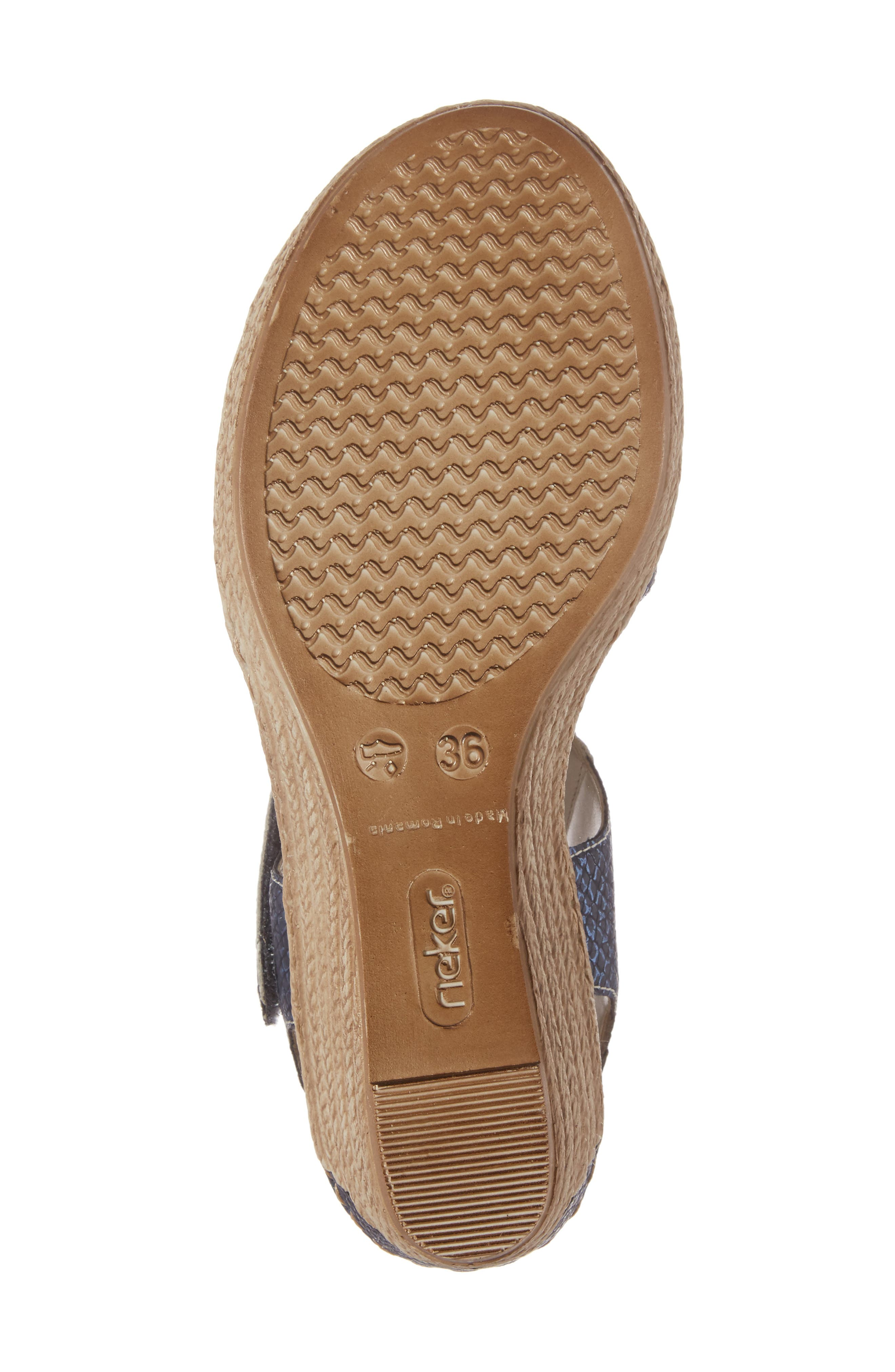 Alternate Image 6  - Rieker Antistress Fanni 70 Wedge Sandal (Women)