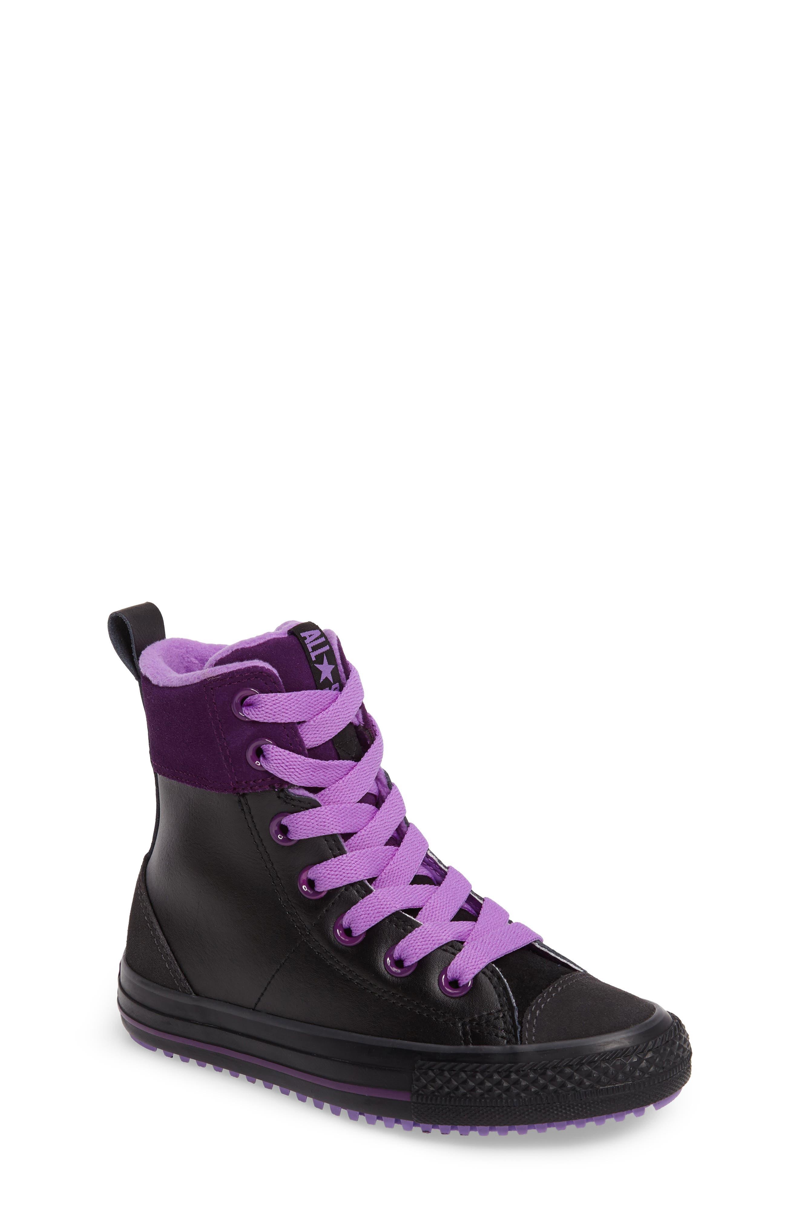 Converse Chuck Taylor® All Star® Asphalt High Top Sneaker (Toddler, Little Kid & Big Kid)