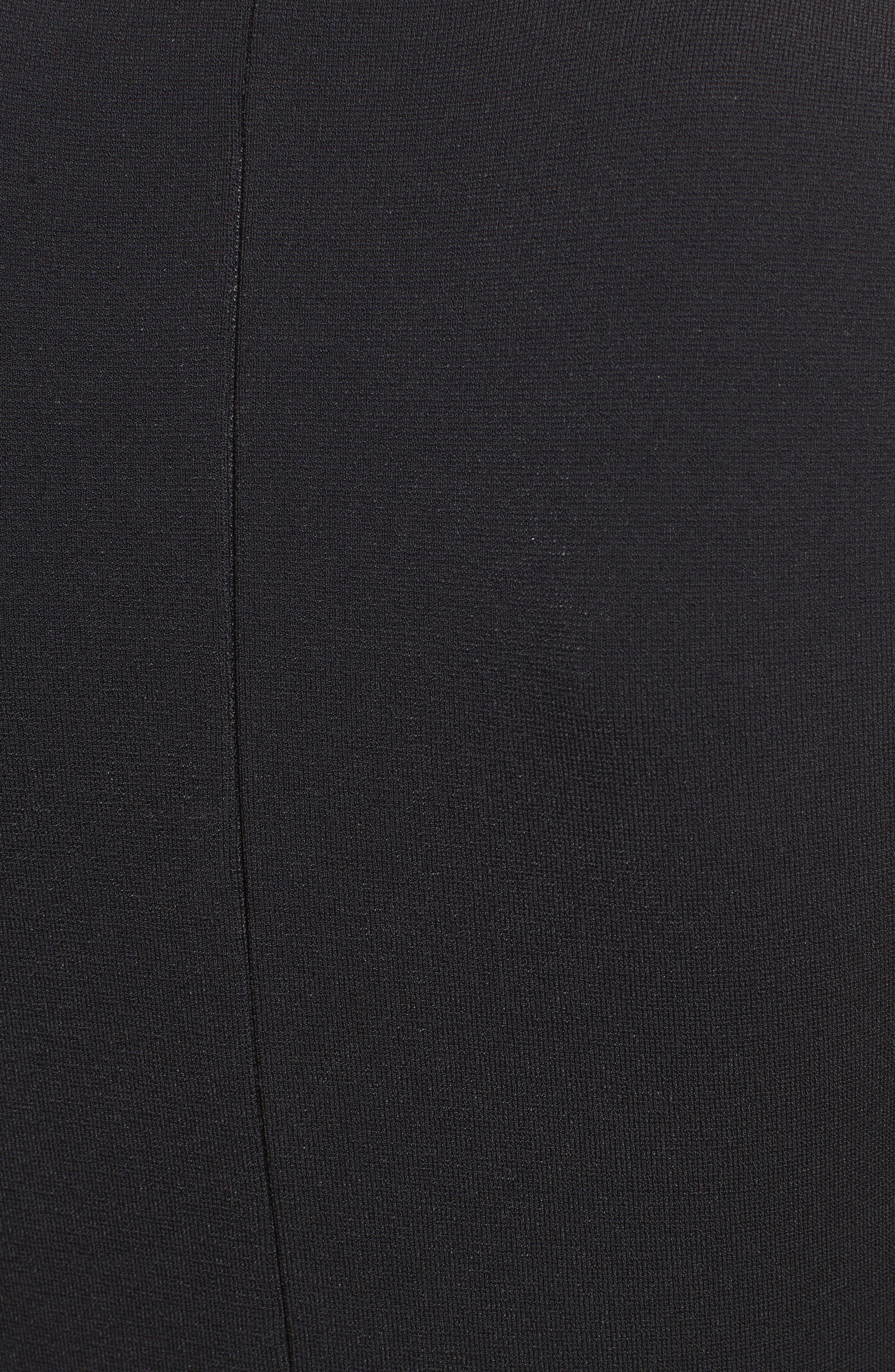Alternate Image 3  - Lela Rose Lace Hem Dress